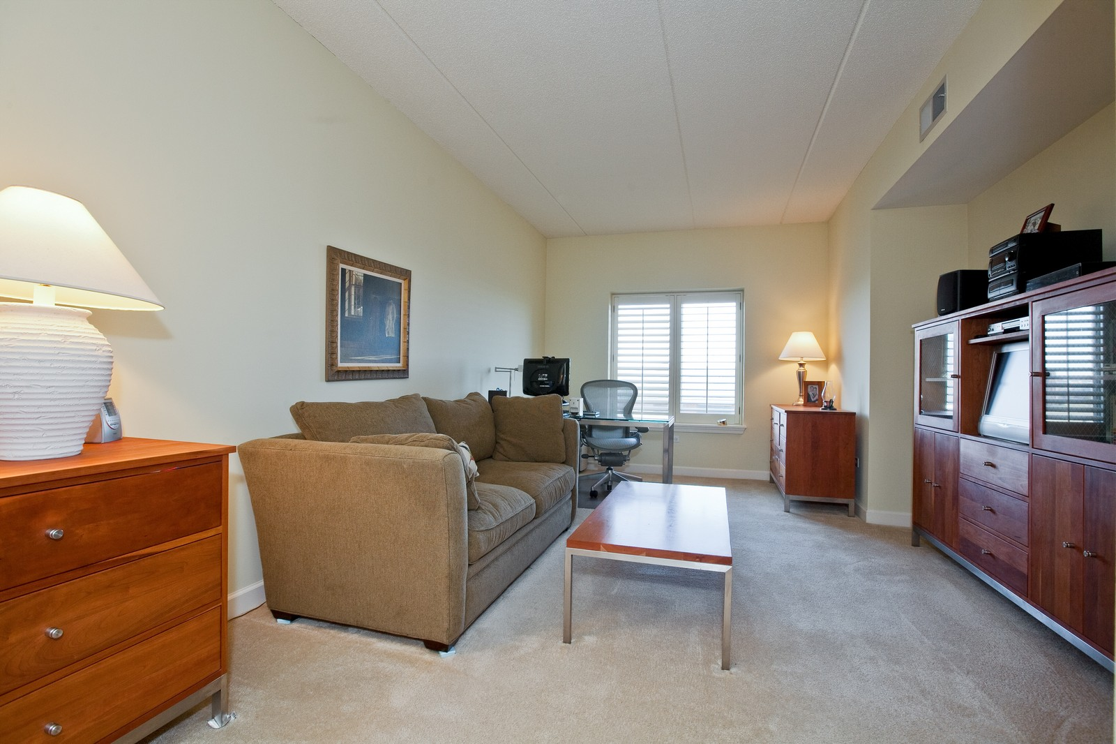 Real Estate Photography - 865 E 22nd St, Unit 510, Lombard, IL, 60148 - 2nd Bedroom