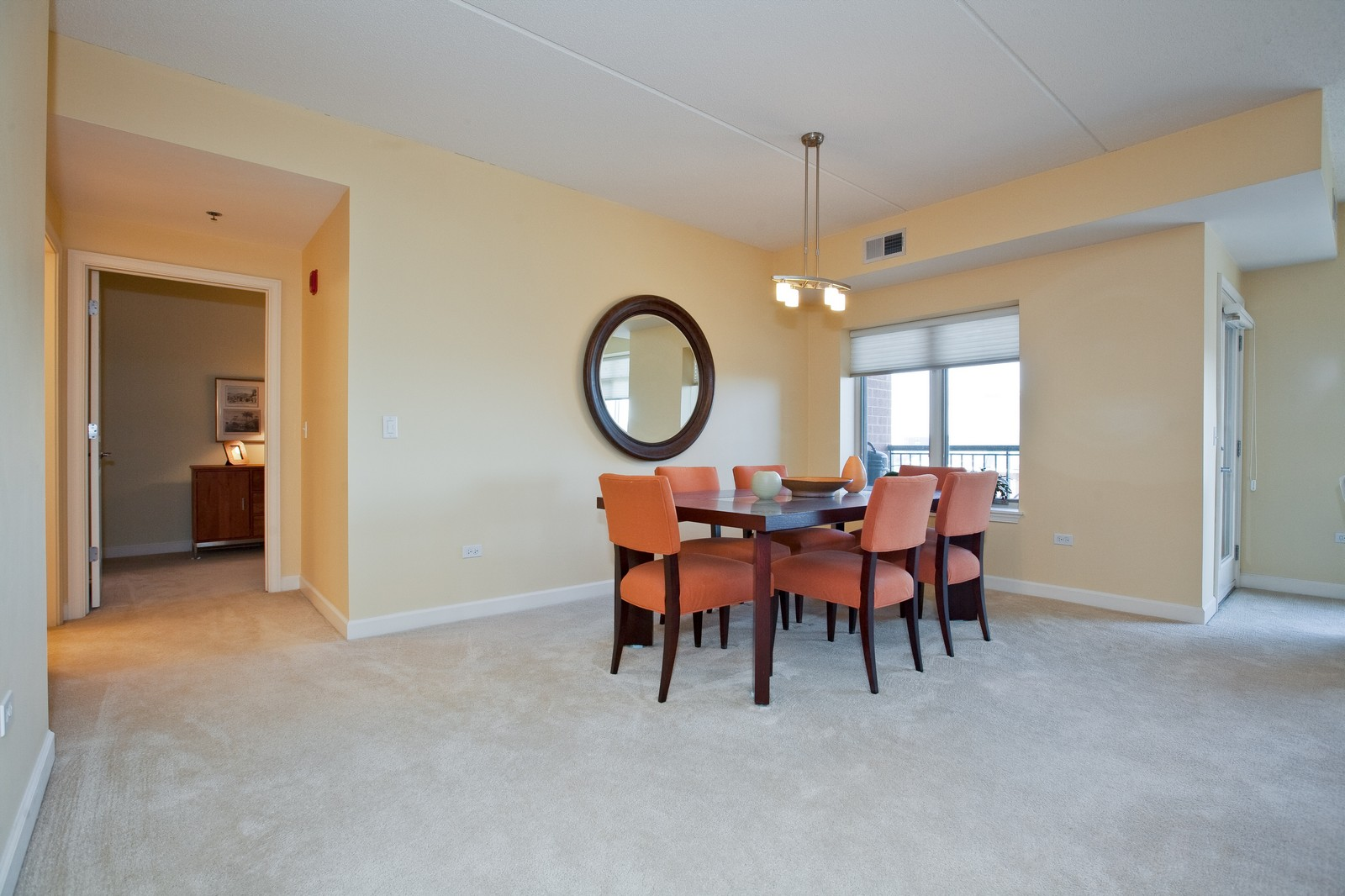Real Estate Photography - 865 E 22nd St, Unit 510, Lombard, IL, 60148 - Dining Room