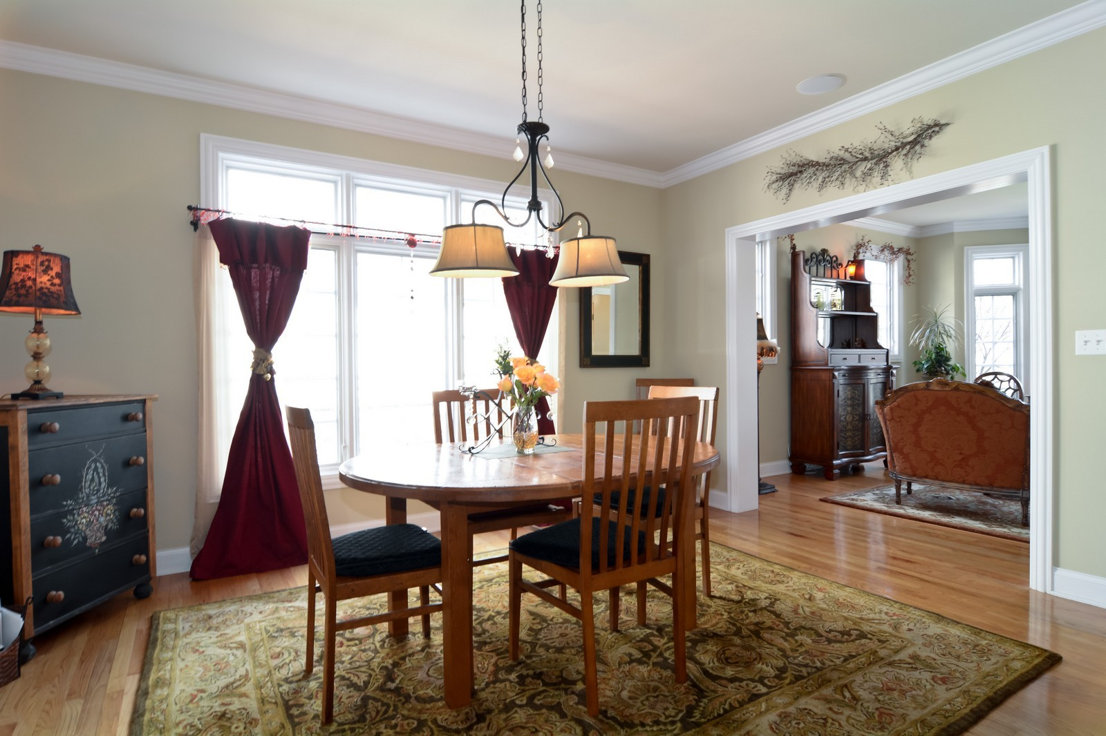 Real Estate Photography - 4418 Harvey, Western Springs, IL, 60558 - Dining Room