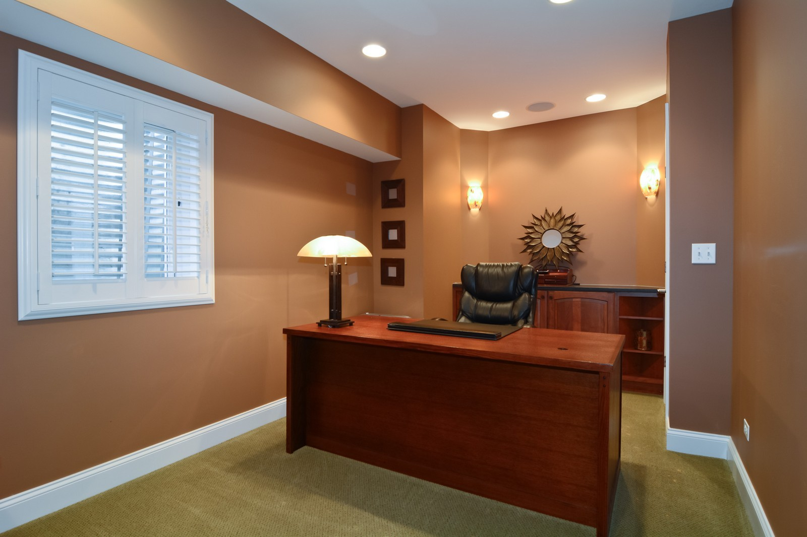 Real Estate Photography - 4418 Harvey, Western Springs, IL, 60558 - Den
