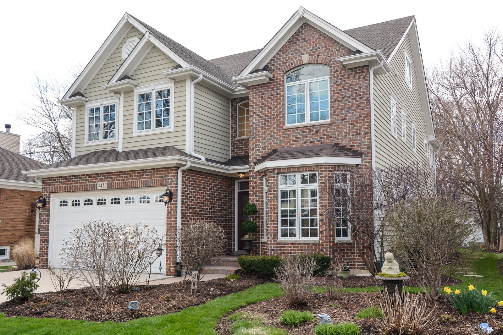 Real Estate Photography - 4418 Harvey, Western Springs, IL, 60558 - Front View