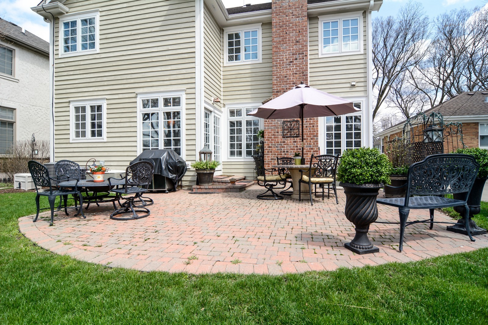 Real Estate Photography - 4418 Harvey, Western Springs, IL, 60558 - Patio