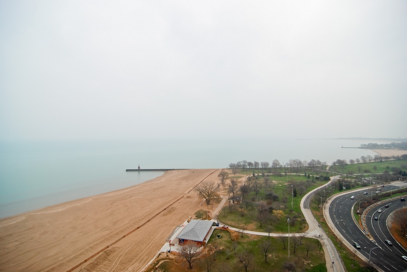 Real Estate Photography - 5733 N Sheridan, Unit 24B, Chicago, IL, 60660 - Lake View from Unit