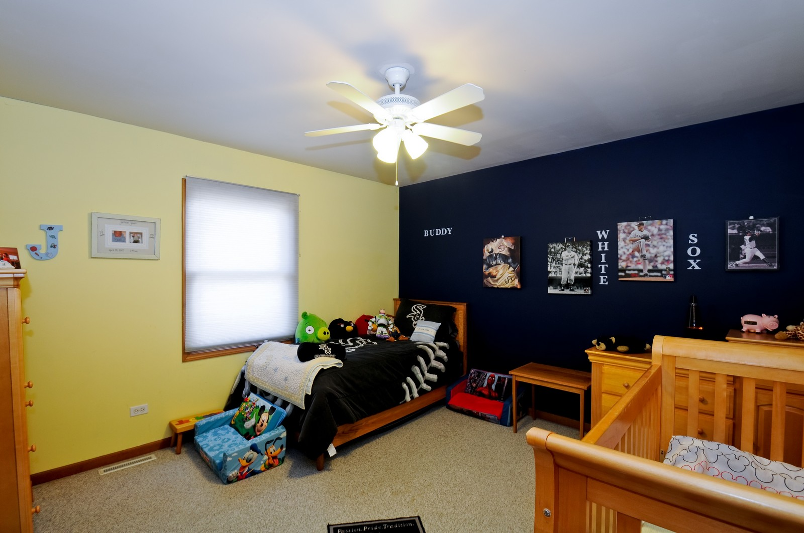 Real Estate Photography - 28 W. 31st Street, Steger, IL, 60475 - 2nd Bedroom