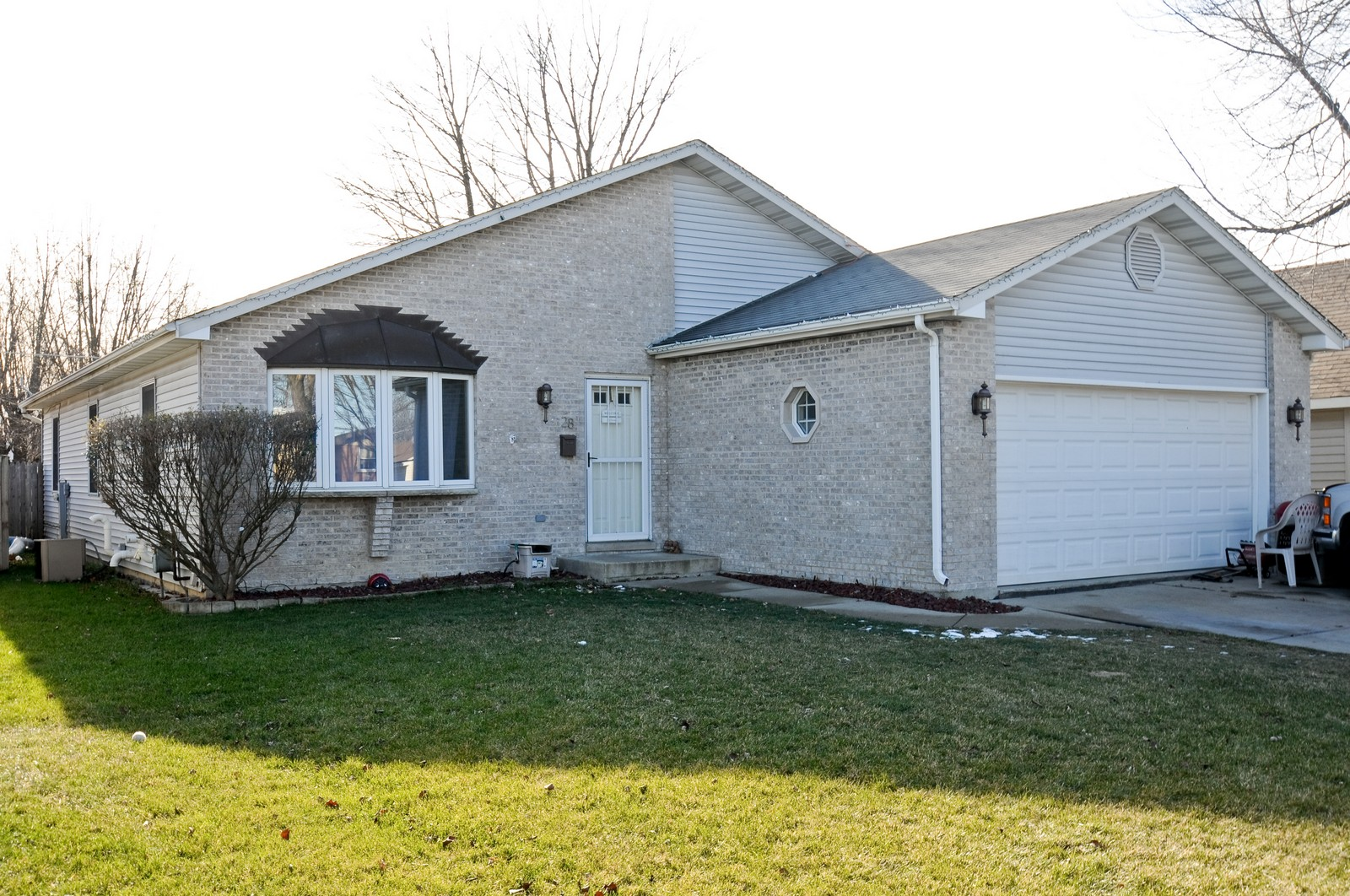 Real Estate Photography - 28 W. 31st Street, Steger, IL, 60475 - Front View