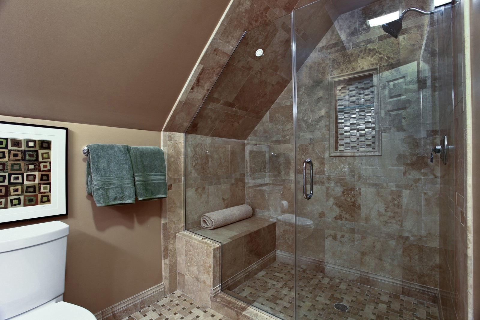 Real Estate Photography - 700 Peck Road, Geneva, IL, 60134 - 3rd Bathroom