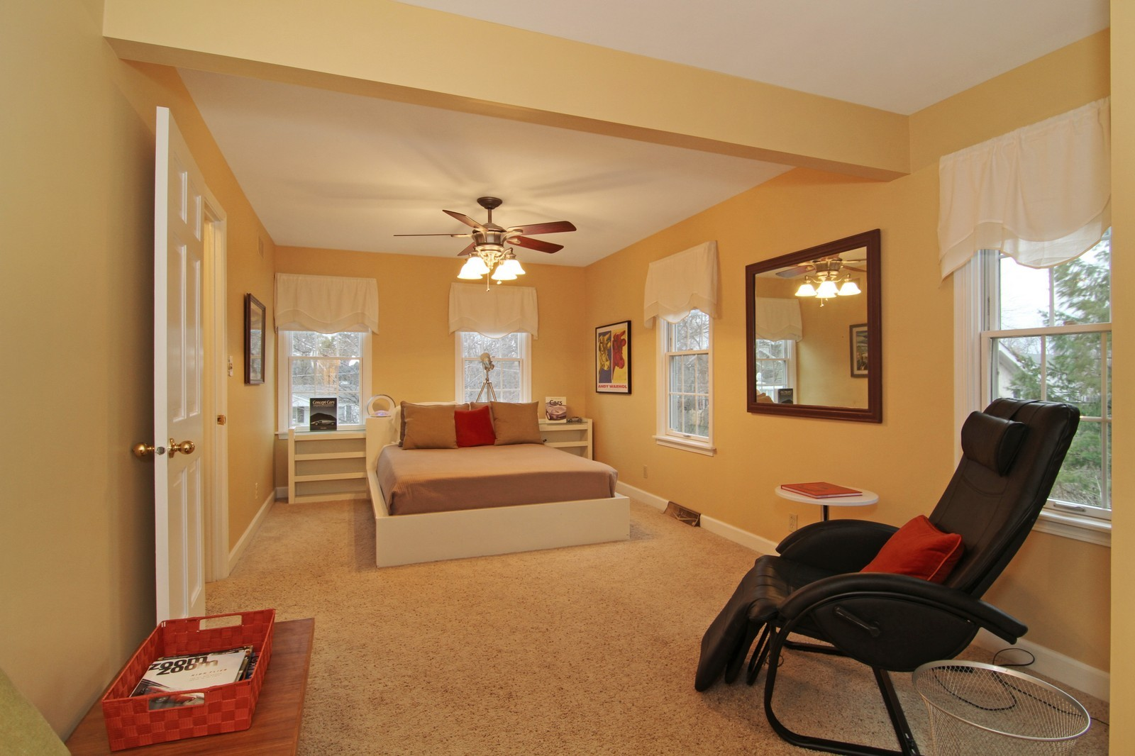 Real Estate Photography - 700 Peck Road, Geneva, IL, 60134 - 2nd Bedroom