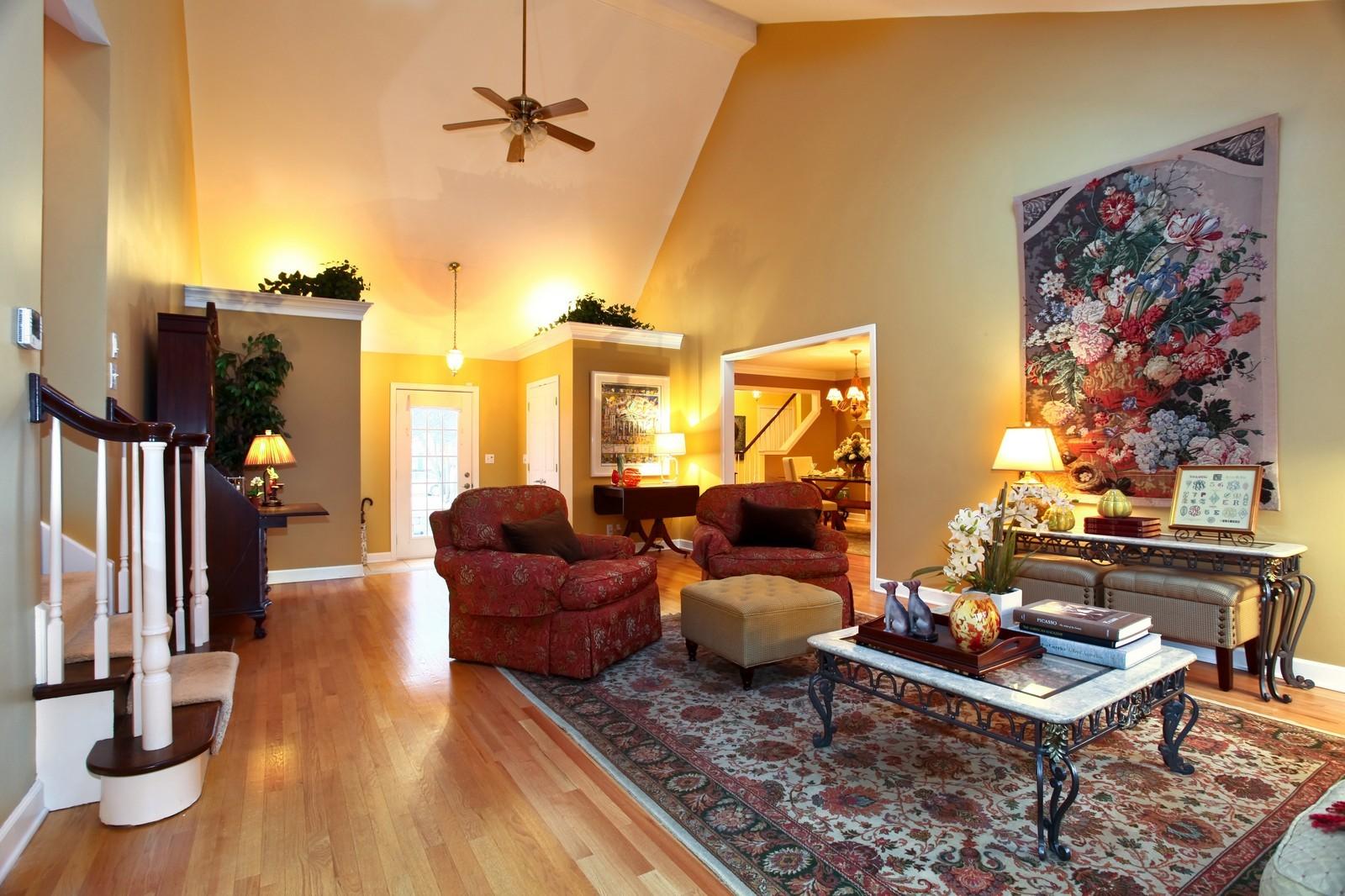 Real Estate Photography - 700 Peck Road, Geneva, IL, 60134 - Living Room