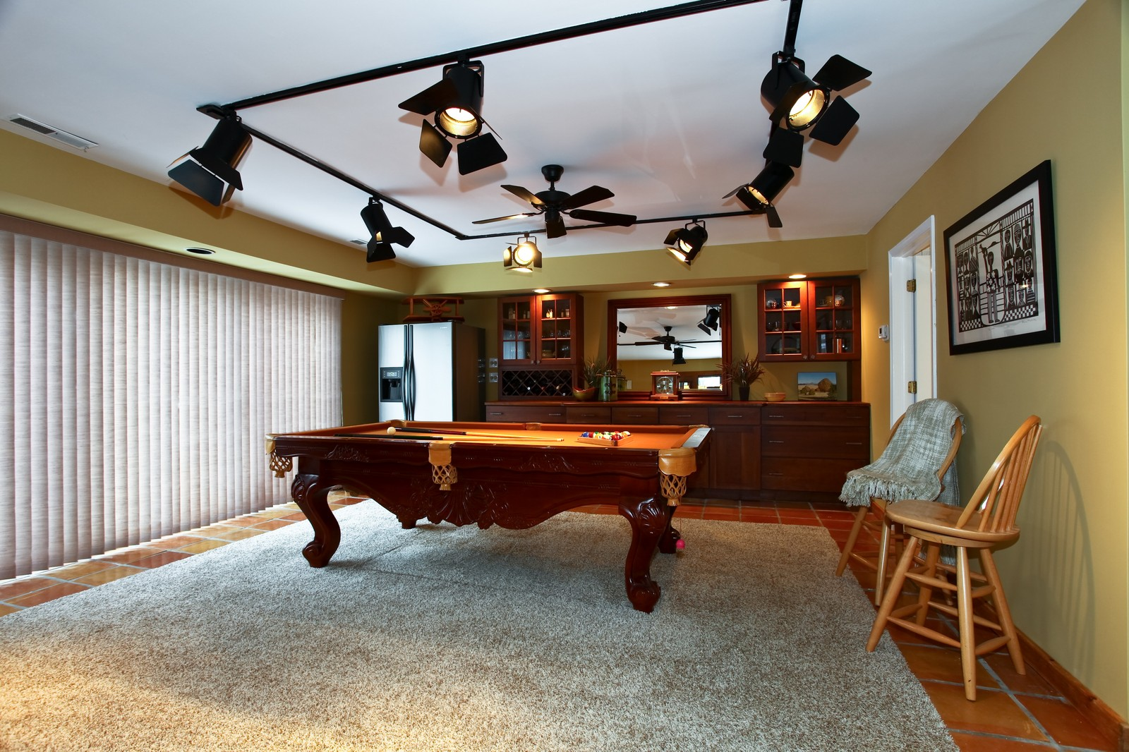 Real Estate Photography - 700 Peck Road, Geneva, IL, 60134 - Gameroom
