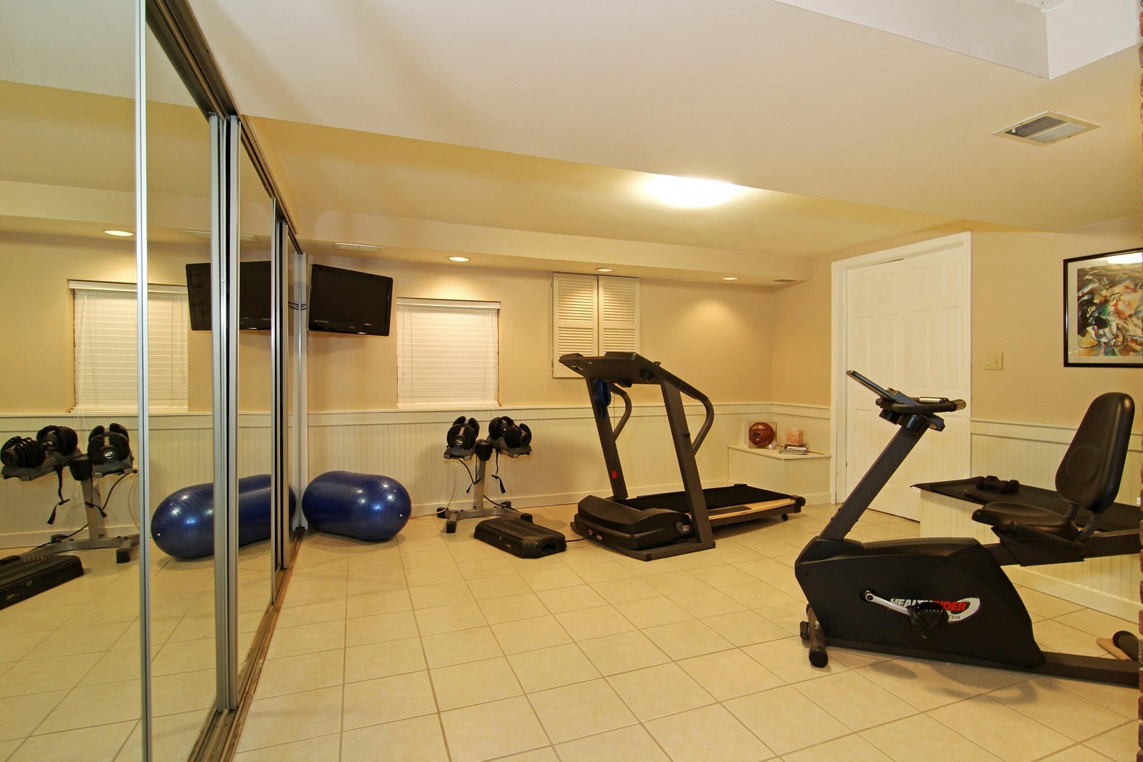 Real Estate Photography - 700 Peck Road, Geneva, IL, 60134 - Exercise Room