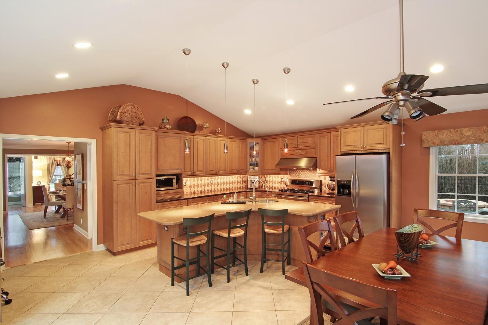 Real Estate Photography - 700 Peck Road, Geneva, IL, 60134 - Kitchen / Breakfast Room