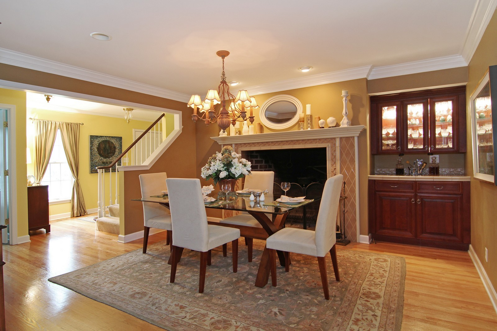Real Estate Photography - 700 Peck Road, Geneva, IL, 60134 - Dining Room