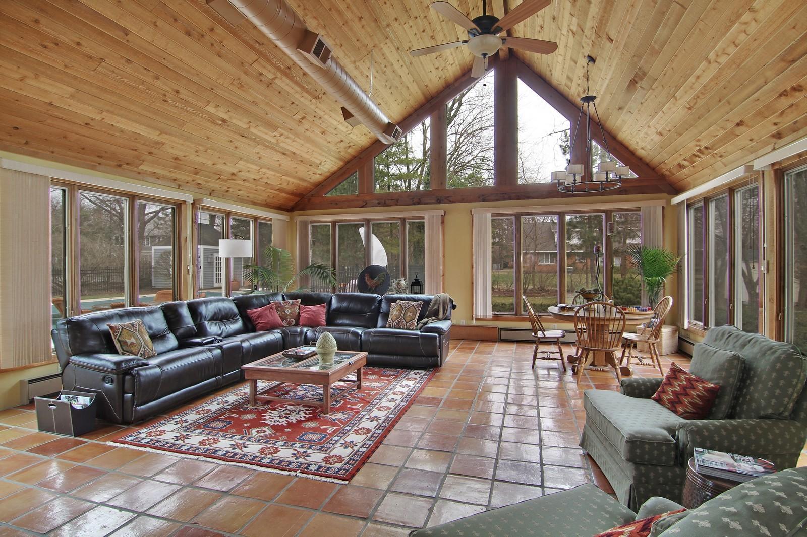 Real Estate Photography - 700 Peck Road, Geneva, IL, 60134 - Family Room