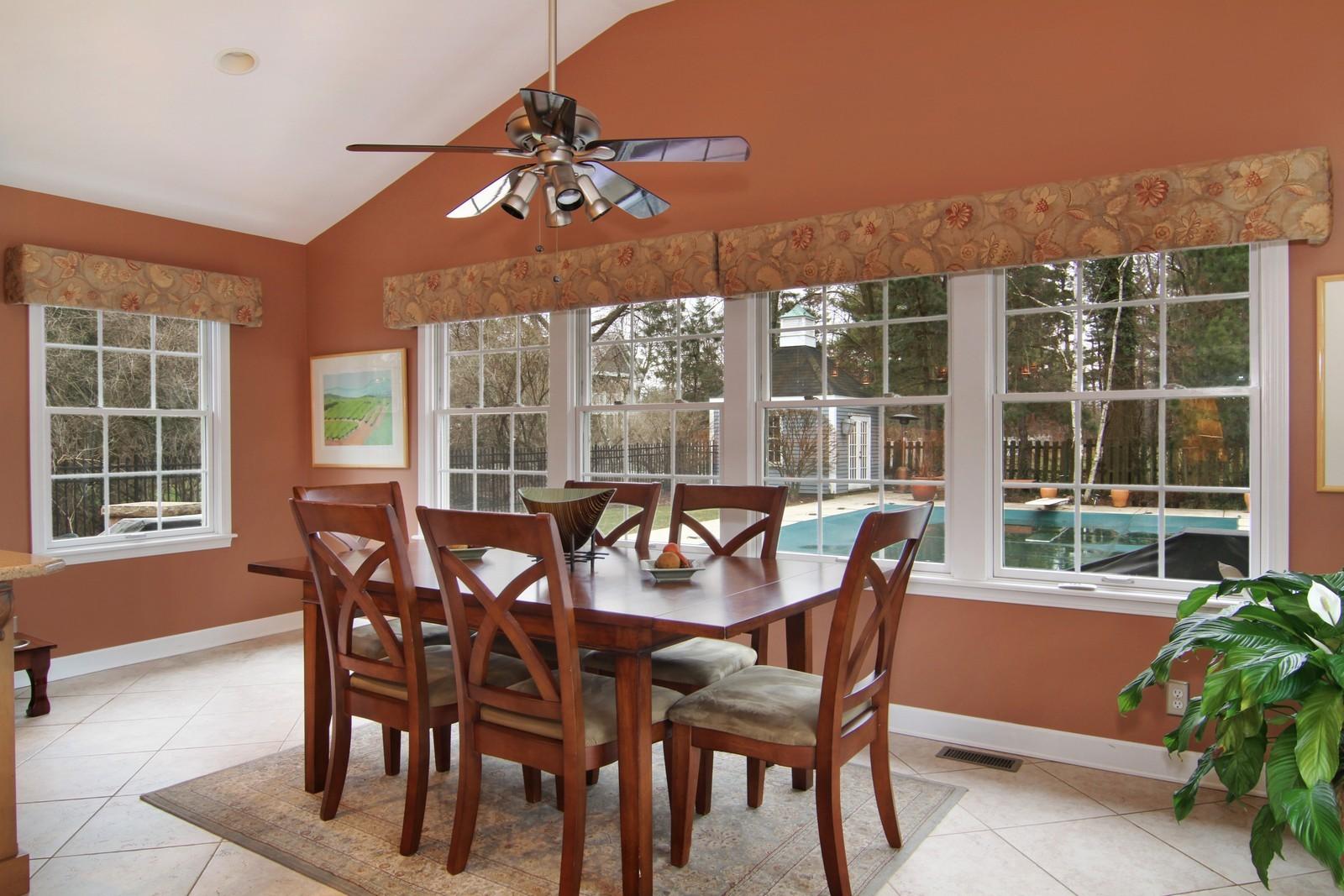 Real Estate Photography - 700 Peck Road, Geneva, IL, 60134 - Breakfast Area