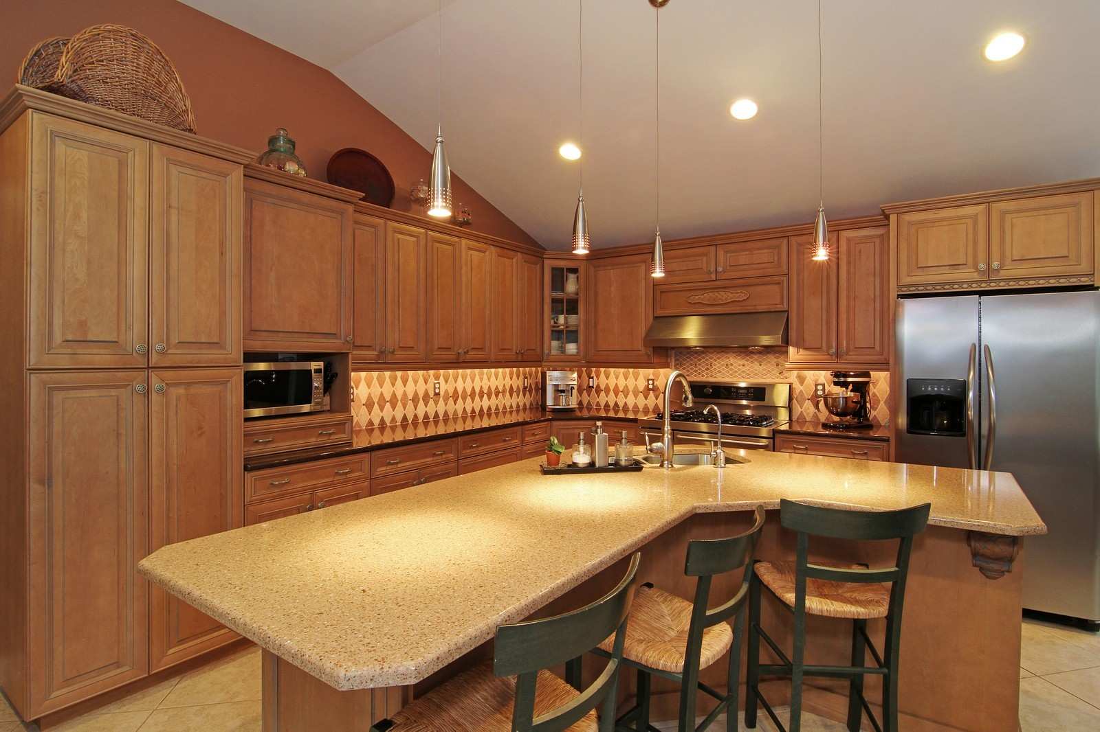 Real Estate Photography - 700 Peck Road, Geneva, IL, 60134 - Kitchen