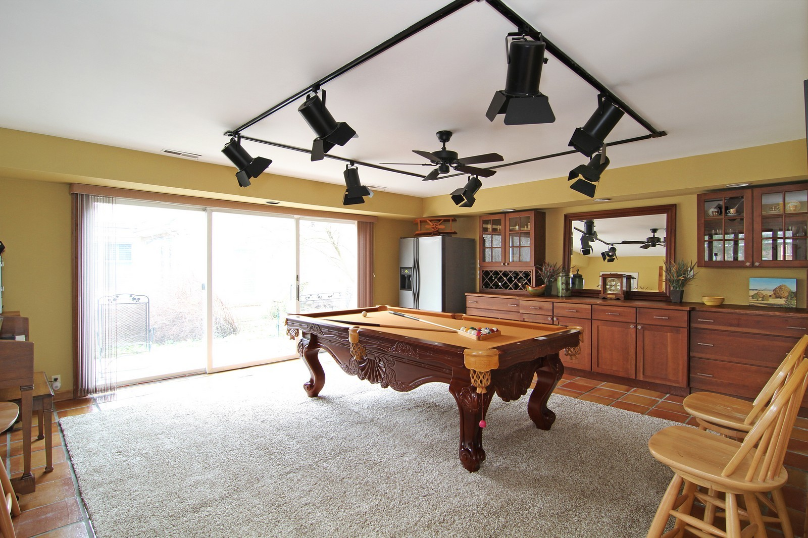 Real Estate Photography - 700 Peck Road, Geneva, IL, 60134 - Pool Room
