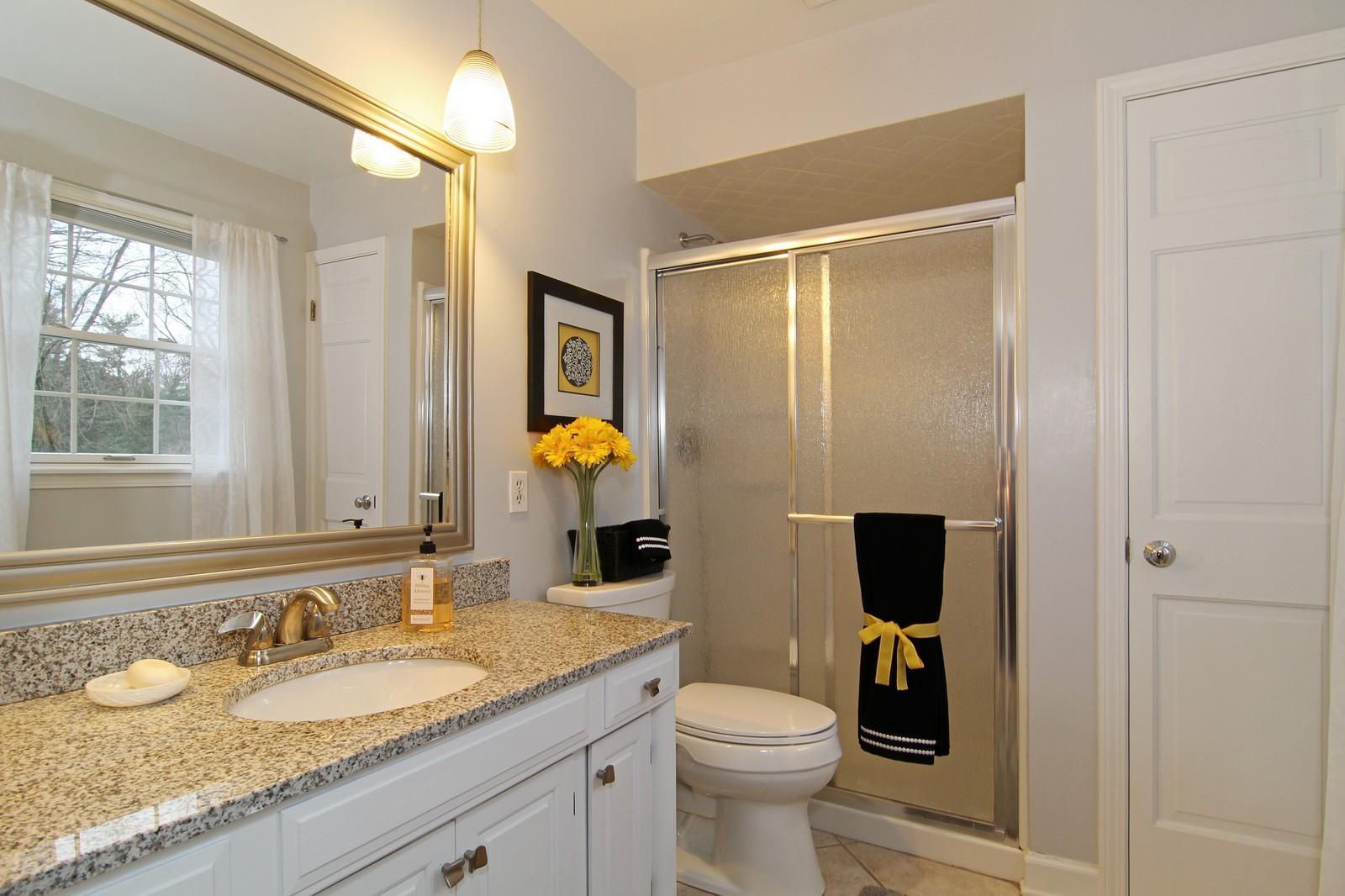 Real Estate Photography - 700 Peck Road, Geneva, IL, 60134 - Bathroom