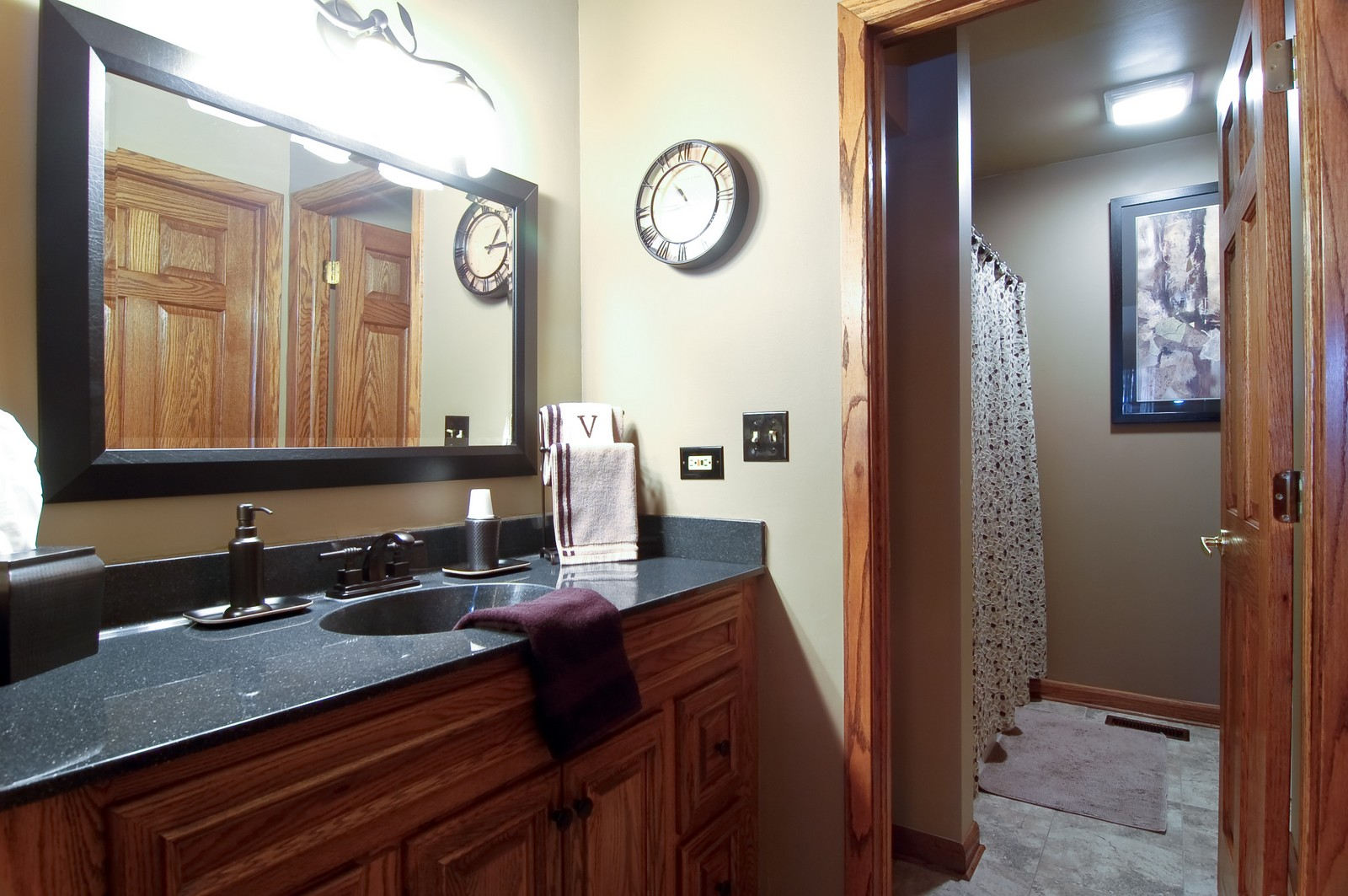 Real Estate Photography - 1616 Stratton Pond Ln, Schaumburg, IL, 60193 - Master Bathroom