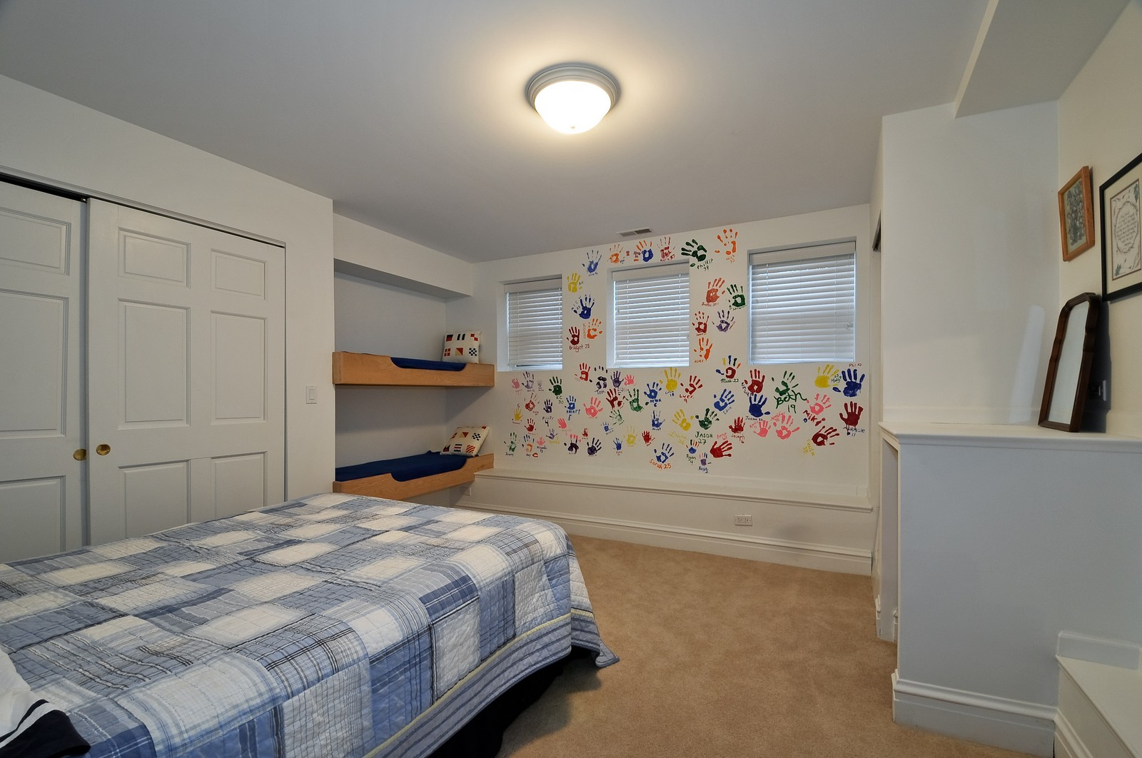 Real Estate Photography - 3734 n. richmond, chicago, IL, 60618 - 2nd Bedroom