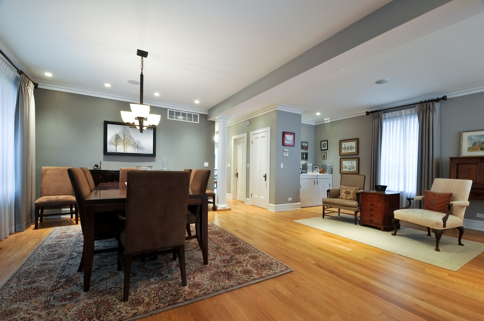 Real Estate Photography - 3734 n. richmond, chicago, IL, 60618 - Dining Room