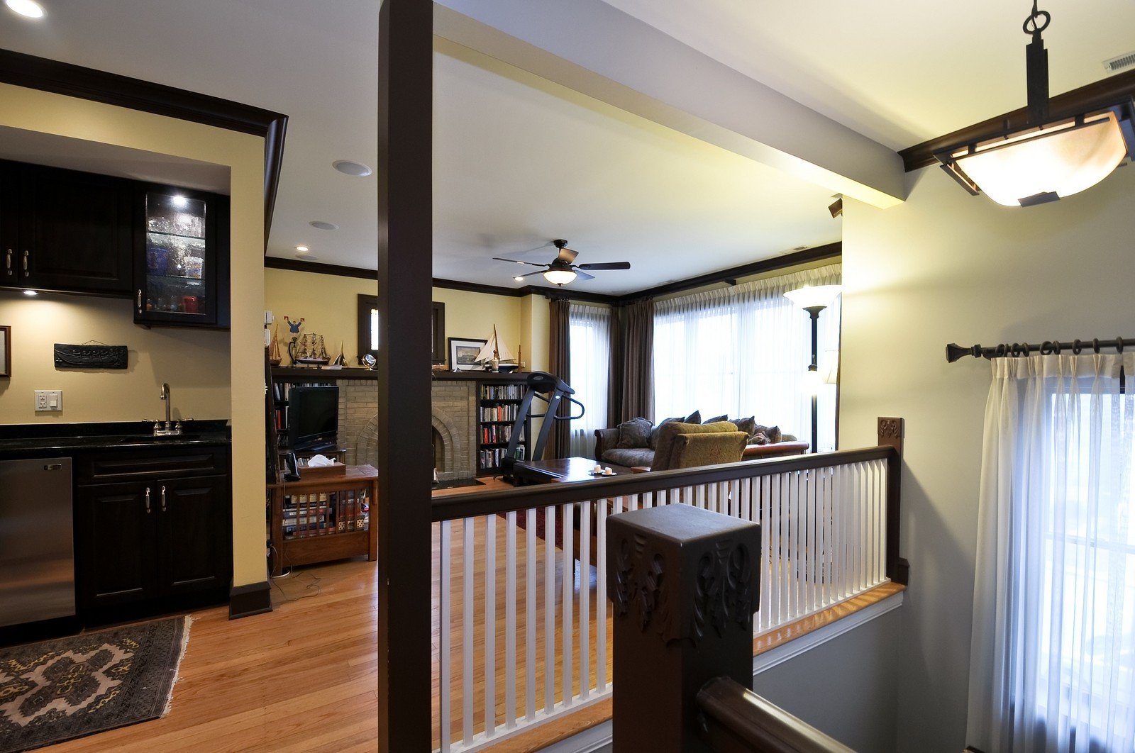 Real Estate Photography - 3734 n. richmond, chicago, IL, 60618 - Family Room