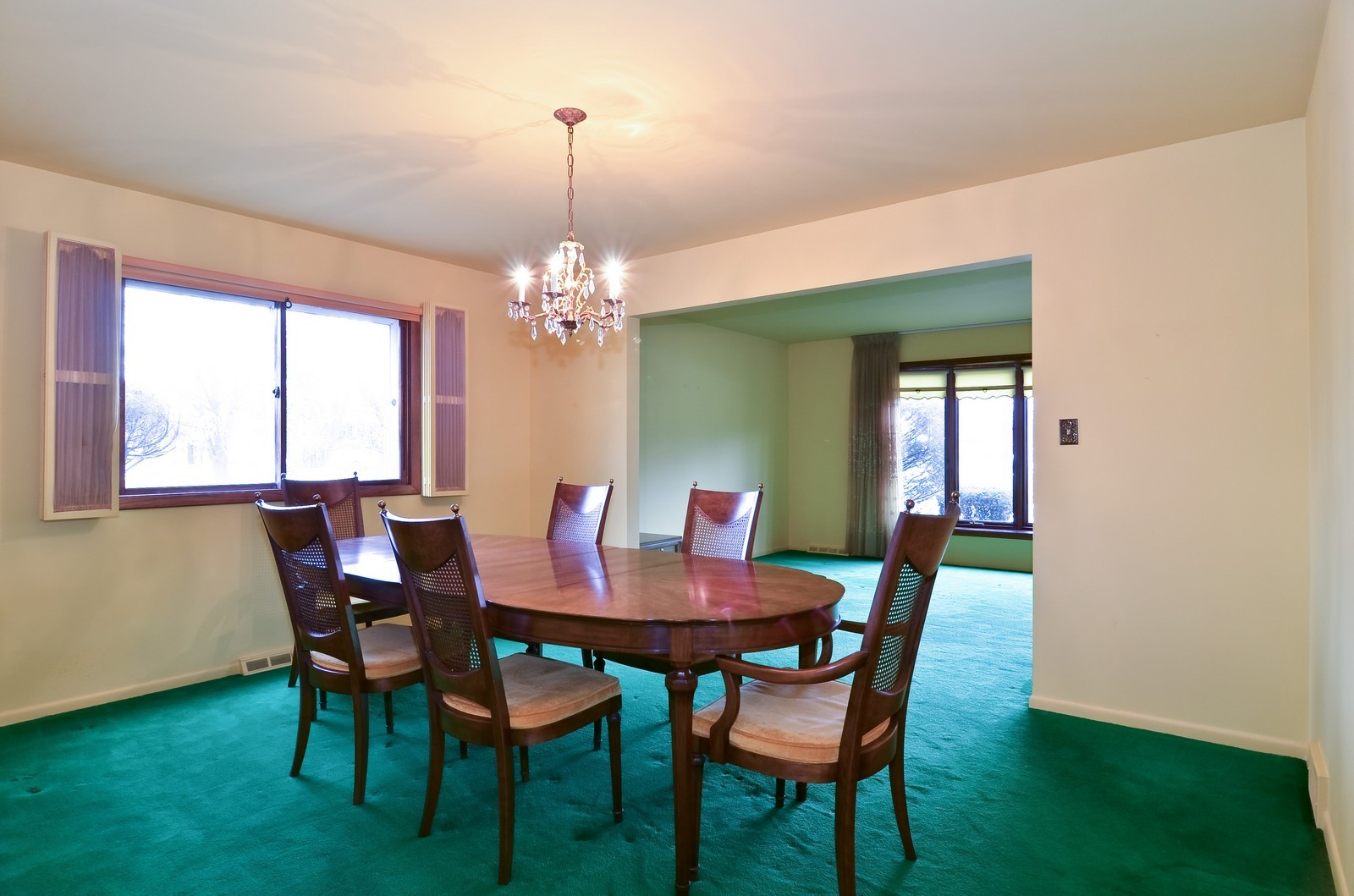 Real Estate Photography - 9045 Parkside, Morton Grove, IL, 60053 - Dining Room