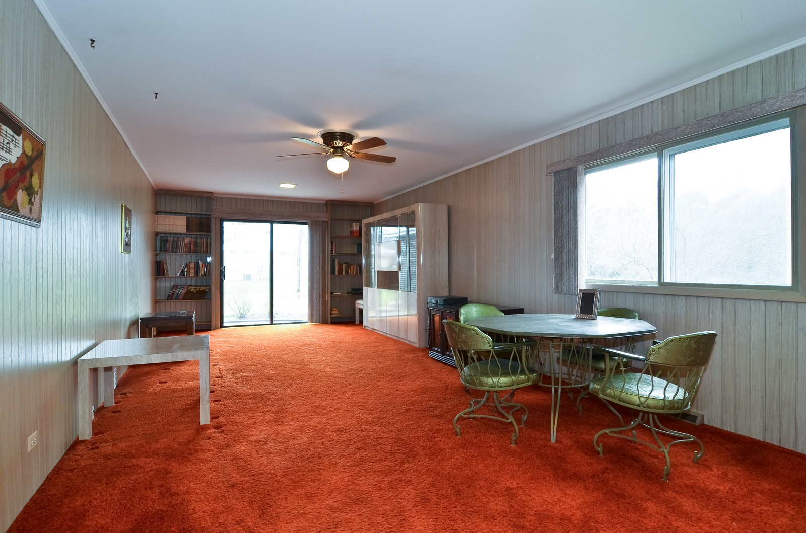 Real Estate Photography - 9045 Parkside, Morton Grove, IL, 60053 - Family Room