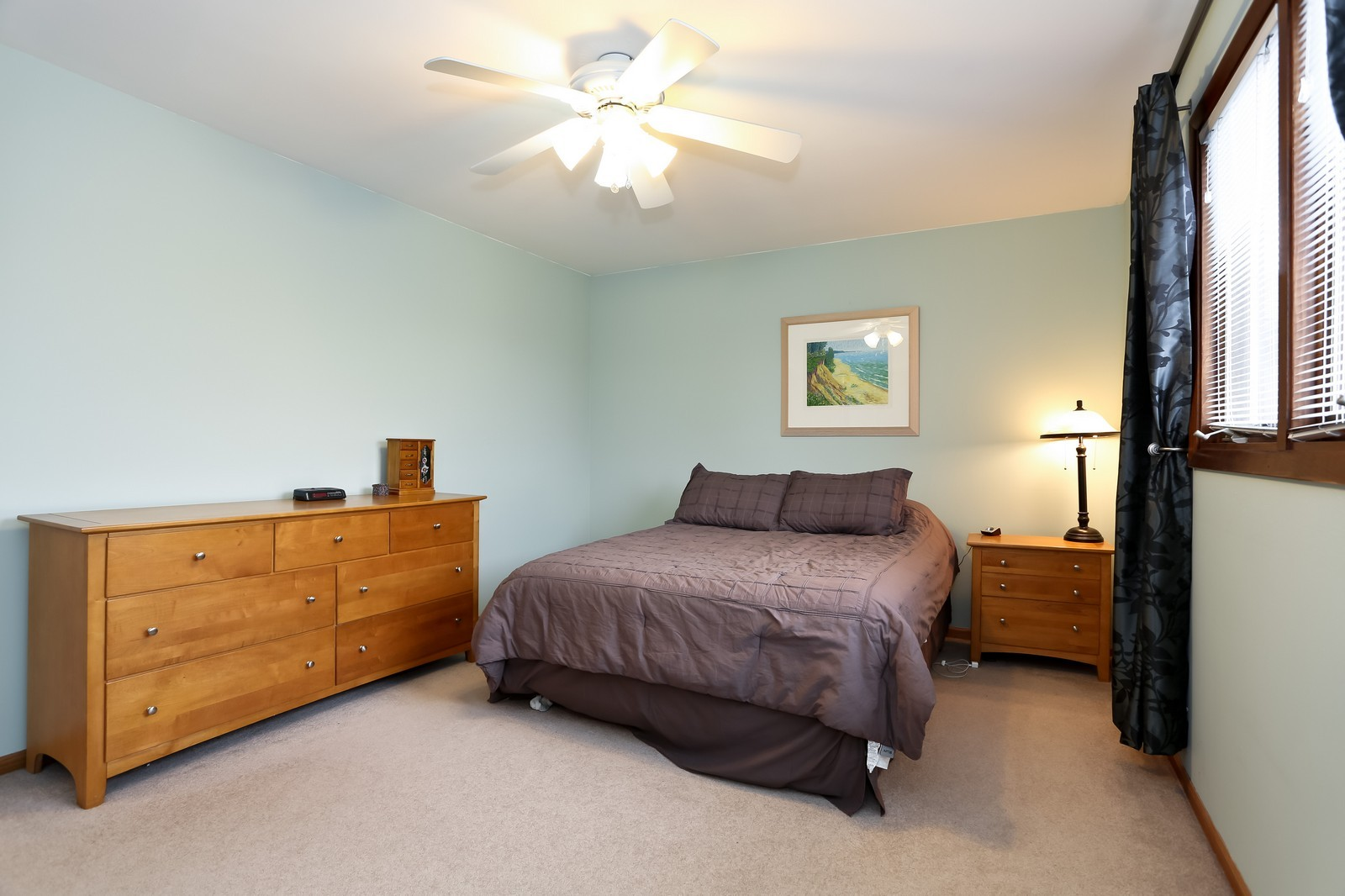 Real Estate Photography - 8441 Horseshoe Drive, Tinley Park, IL, 60477 - Master Bedroom