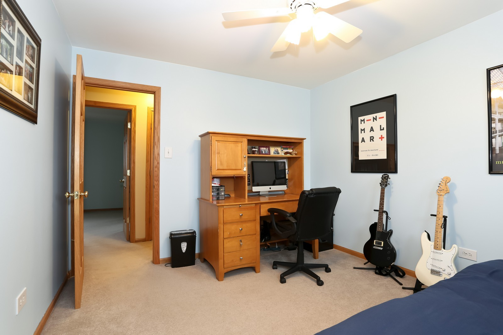 Real Estate Photography - 8441 Horseshoe Drive, Tinley Park, IL, 60477 - 3rd Bedroom
