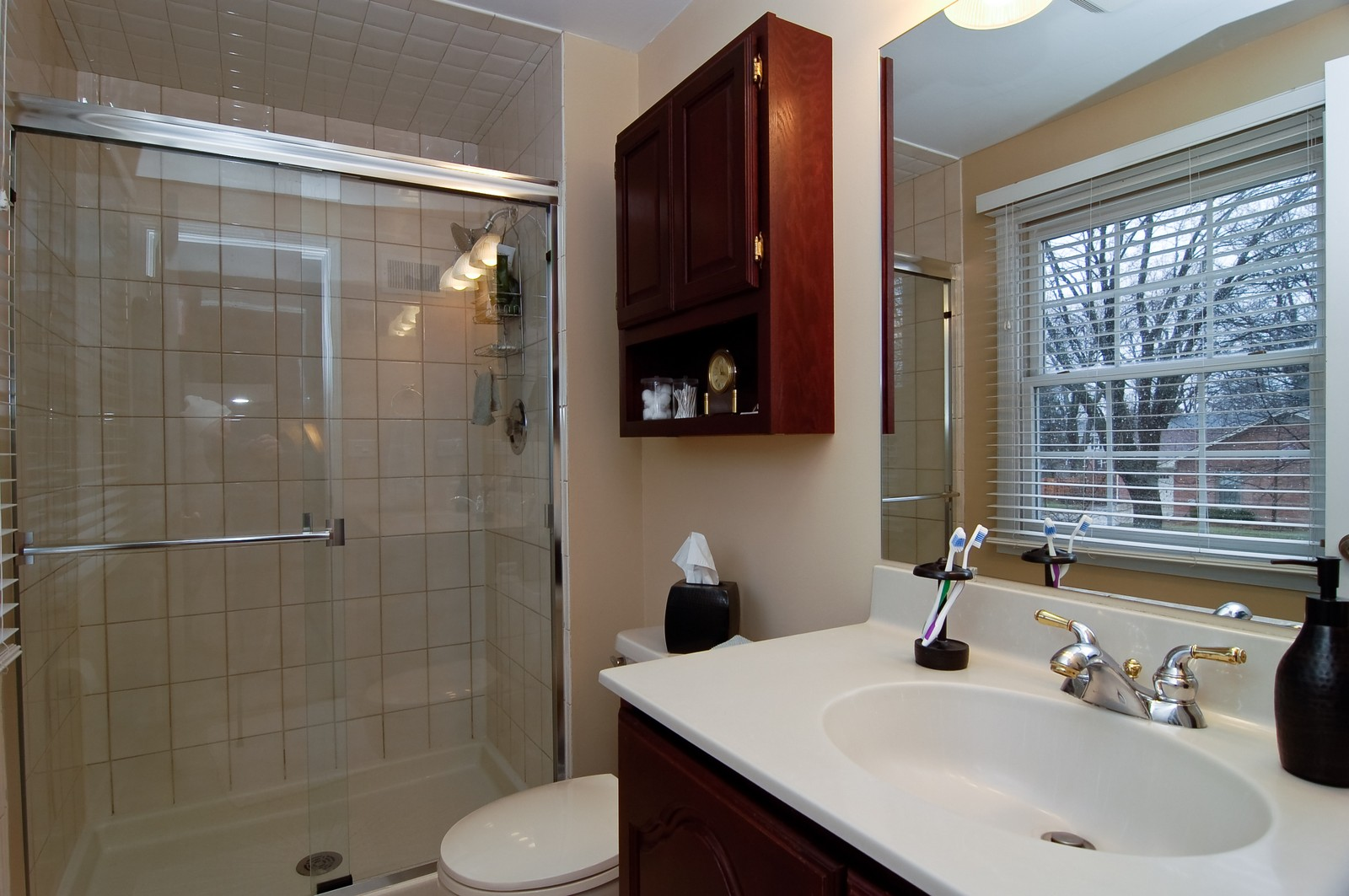Real Estate Photography - 966 N Topanga, Palatine, IL, 60074 - Master Bathroom