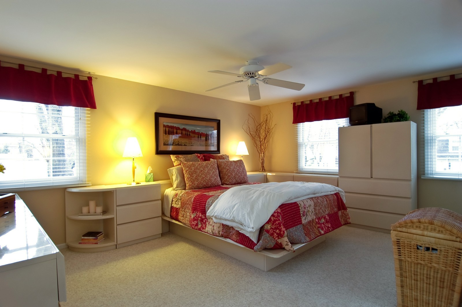 Real Estate Photography - 966 N Topanga, Palatine, IL, 60074 - Master Bedroom