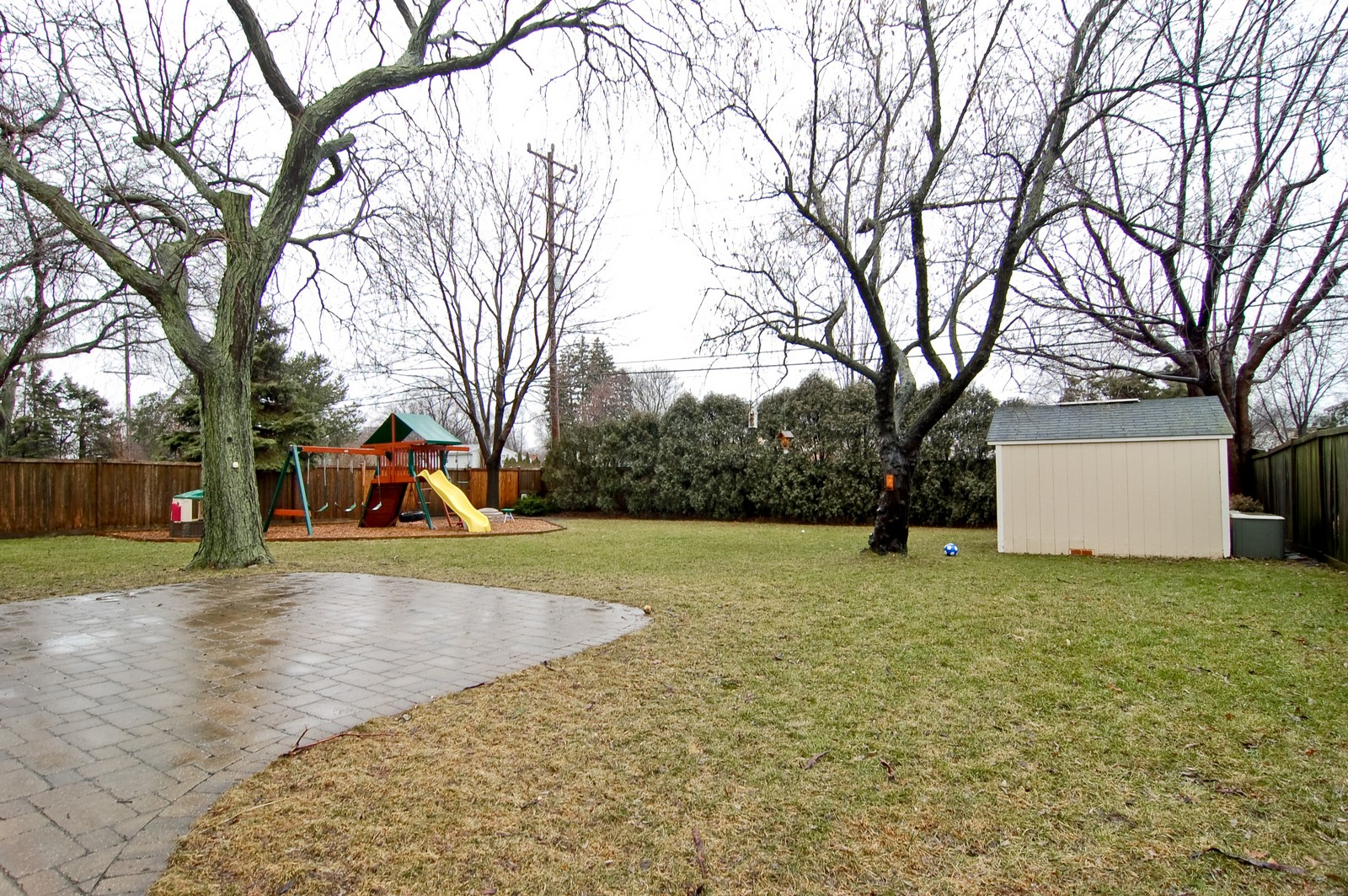 Real Estate Photography - 966 N Topanga, Palatine, IL, 60074 - Back Yard