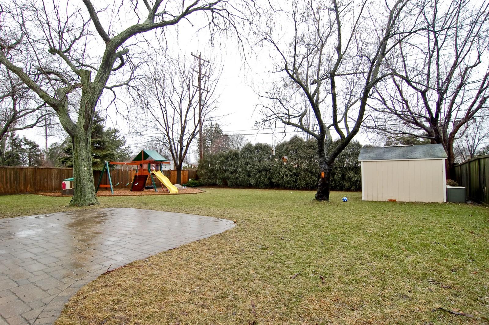 Real Estate Photography - 966 N Topanga, Palatine, IL, 60074 - Back Yard