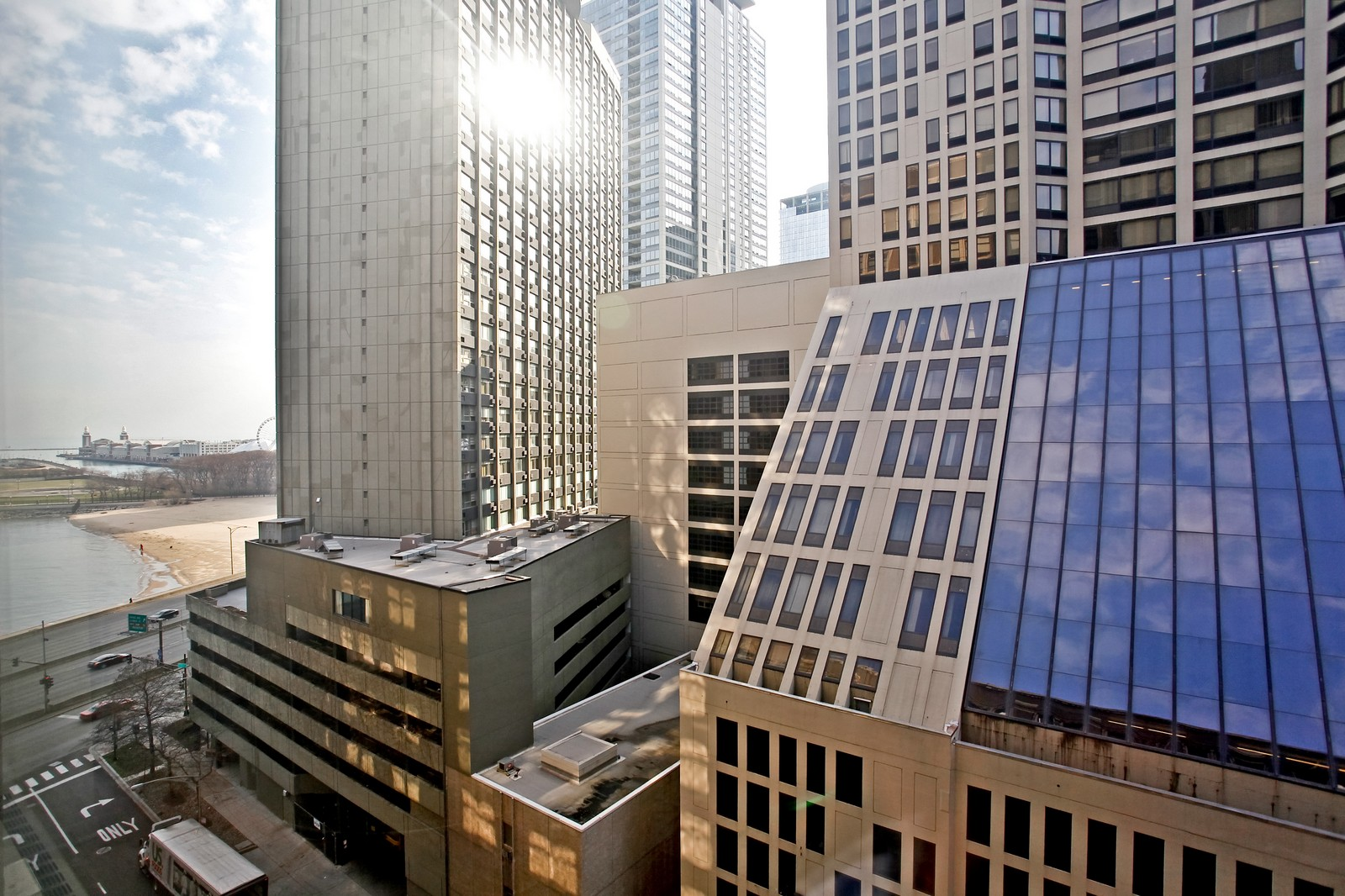 Real Estate Photography - 680 N Lake Shore Dr, Unit 811, Chicago, IL, 60610 - View