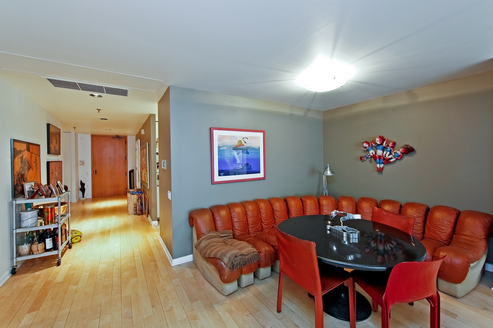 Real Estate Photography - 680 N Lake Shore Dr, Unit 811, Chicago, IL, 60610 - Dining Room