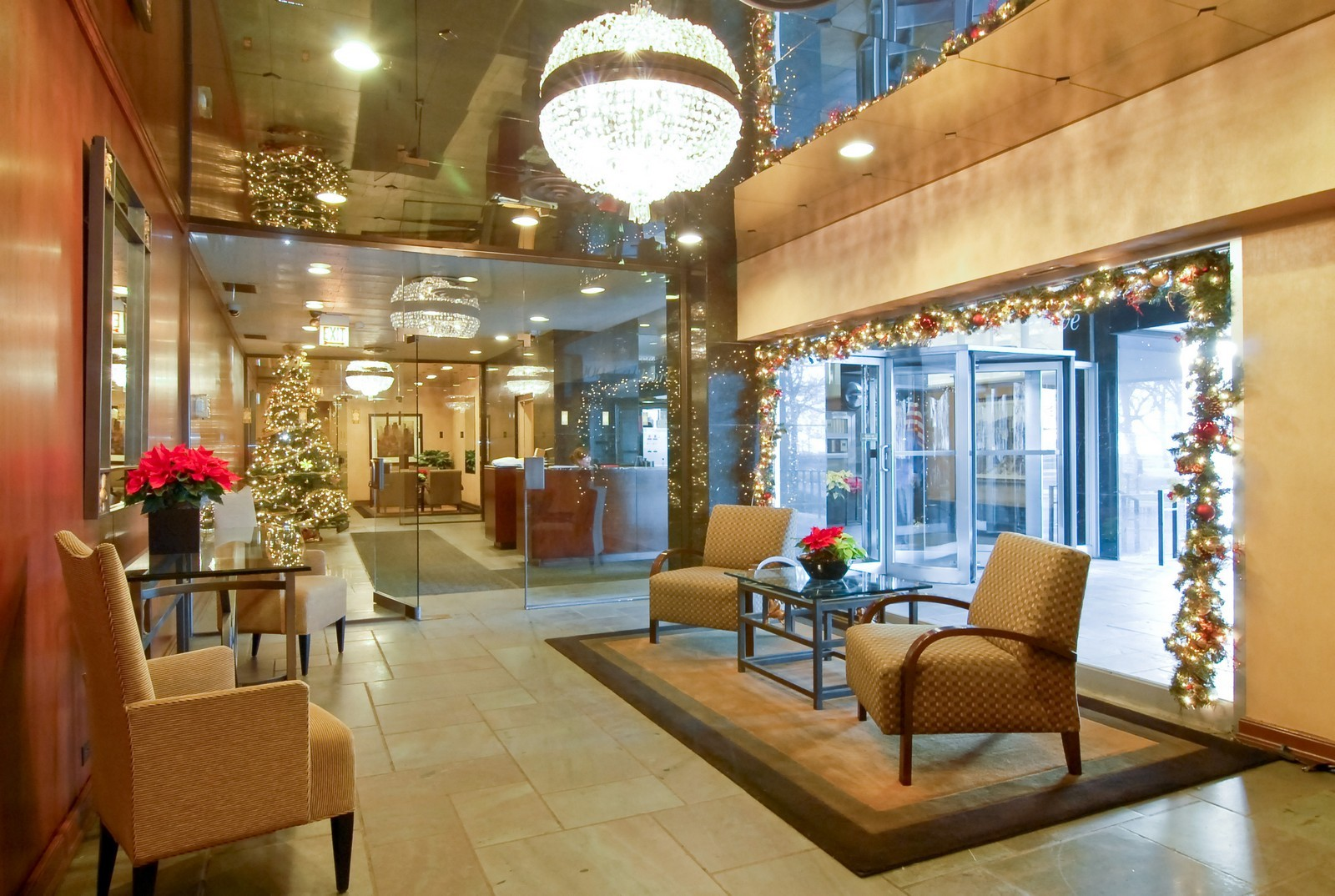 Real Estate Photography - 1000 N Lakeshore Dr, Unit 1407, Chicago, IL, 60611 - Lobby