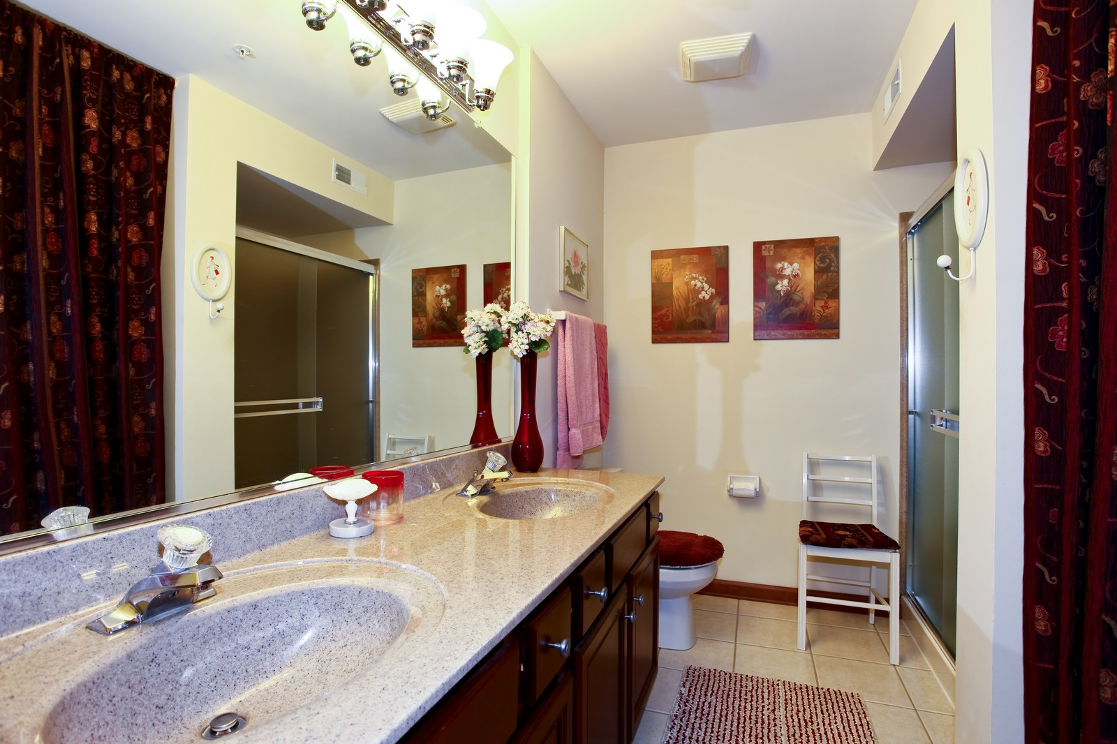 Real Estate Photography - 100 N River Ln, Geneva, IL, 60134 - Master Bathroom