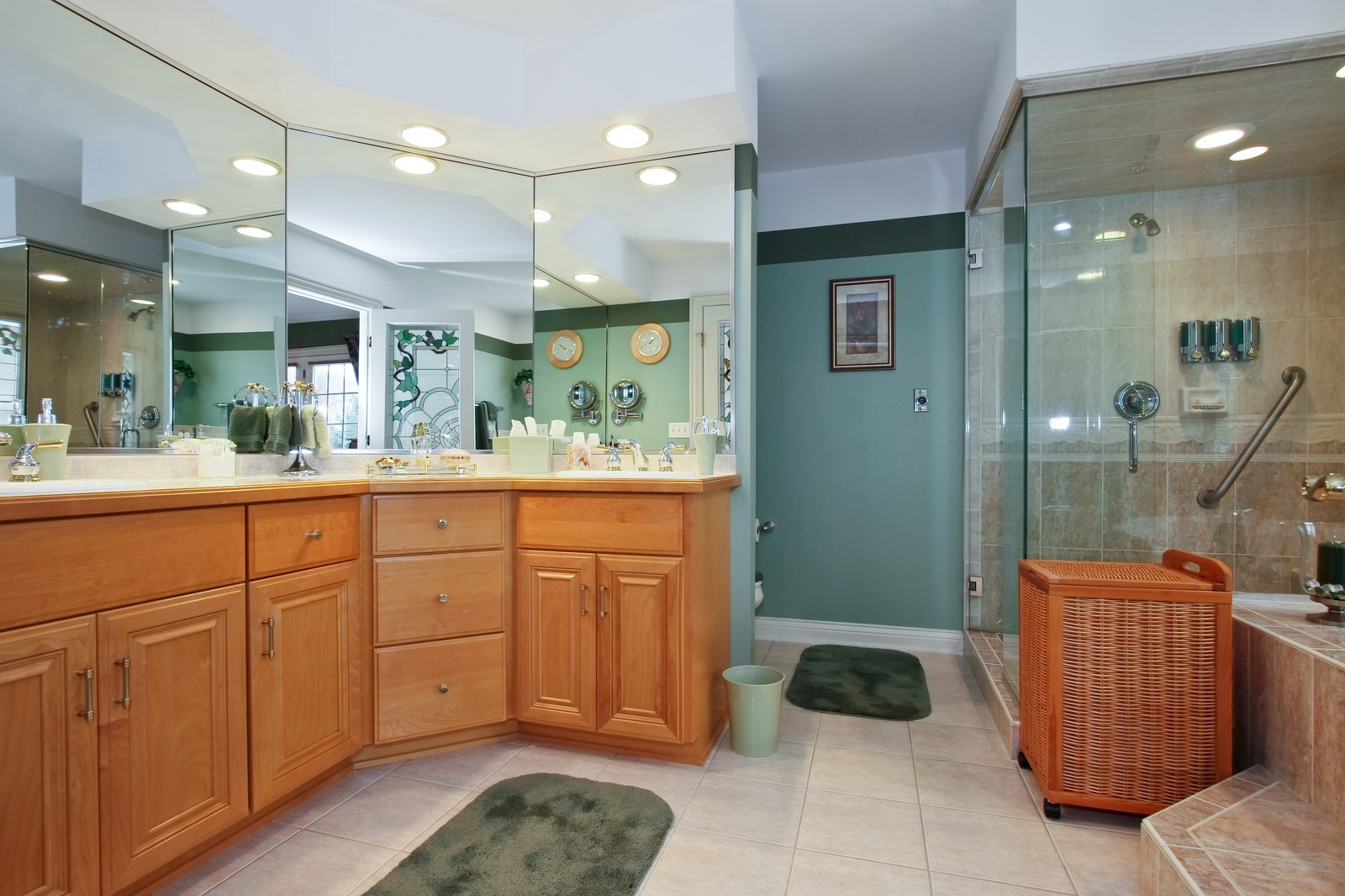 Real Estate Photography - 142 Augusta Drive, Palos Heights, IL, 60463 - Master Bathroom