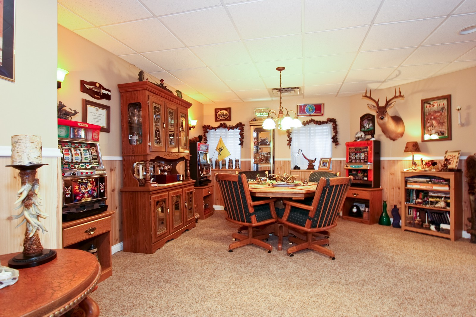 Real Estate Photography - 142 Augusta Drive, Palos Heights, IL, 60463 - Gameroom