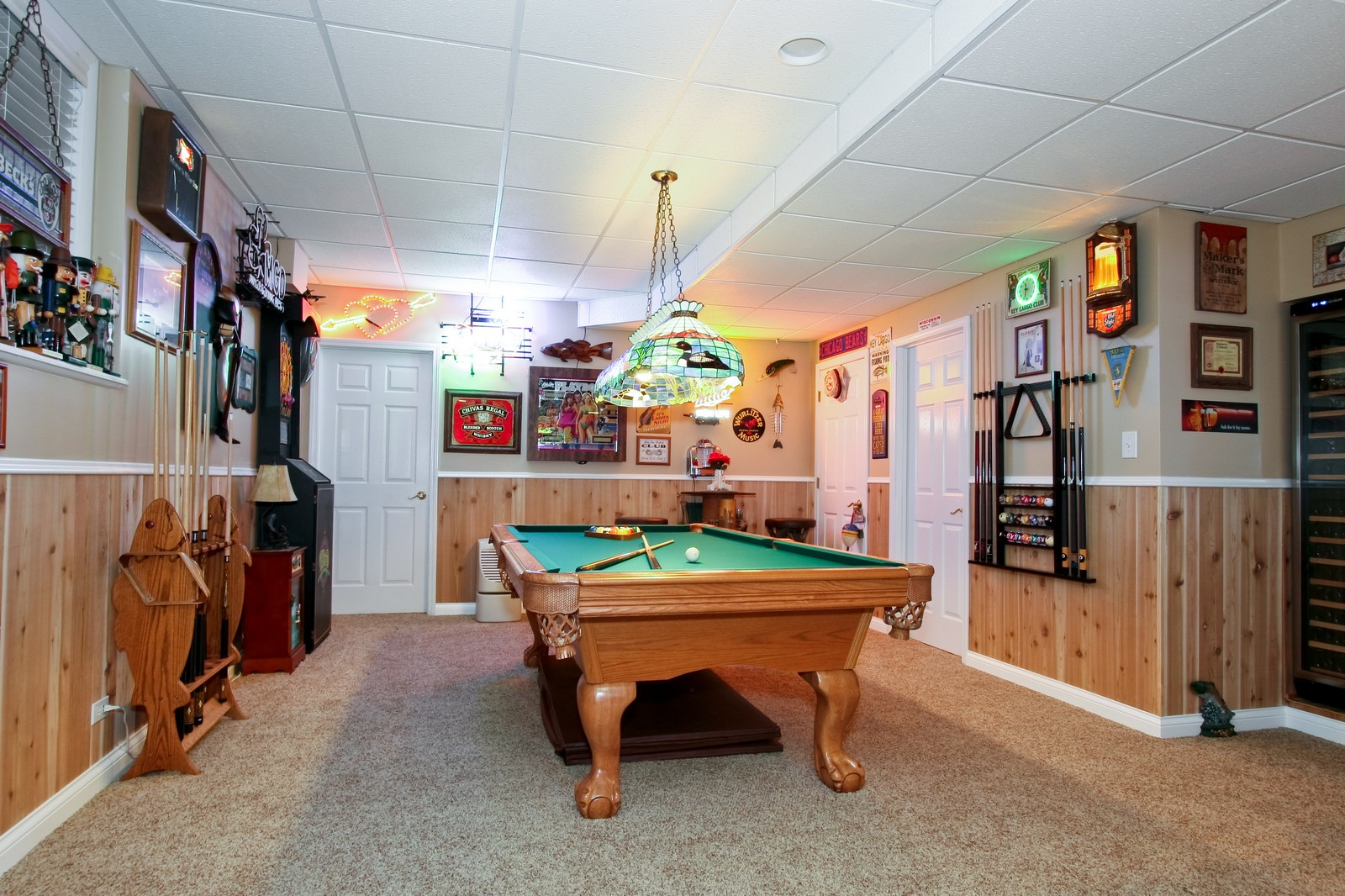 Real Estate Photography - 142 Augusta Drive, Palos Heights, IL, 60463 - Pool Room