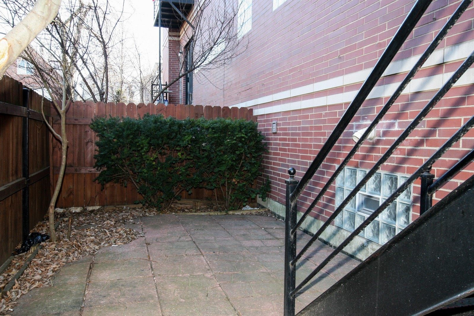 Real Estate Photography - 1020 N Mozart, Unit 4R, Chicago, IL, 60605 - Patio
