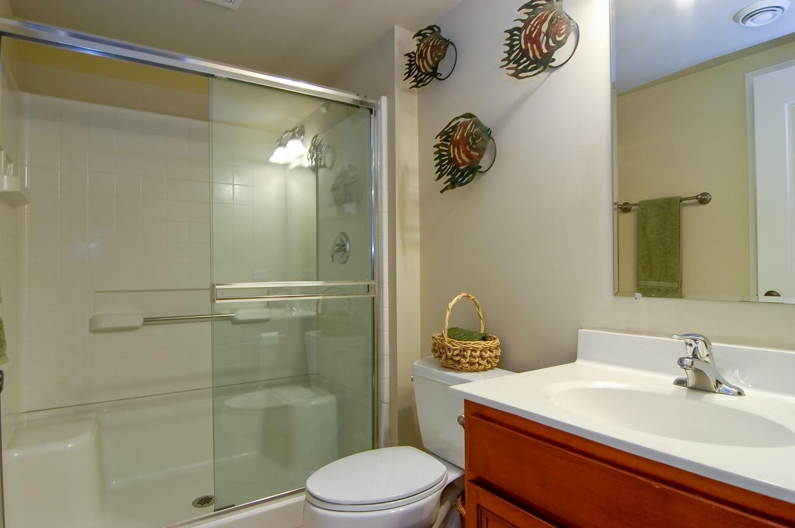Real Estate Photography - 203 E. Lincoln, Wheaton, IL, 60187 - 5th Bathroom (Basement)