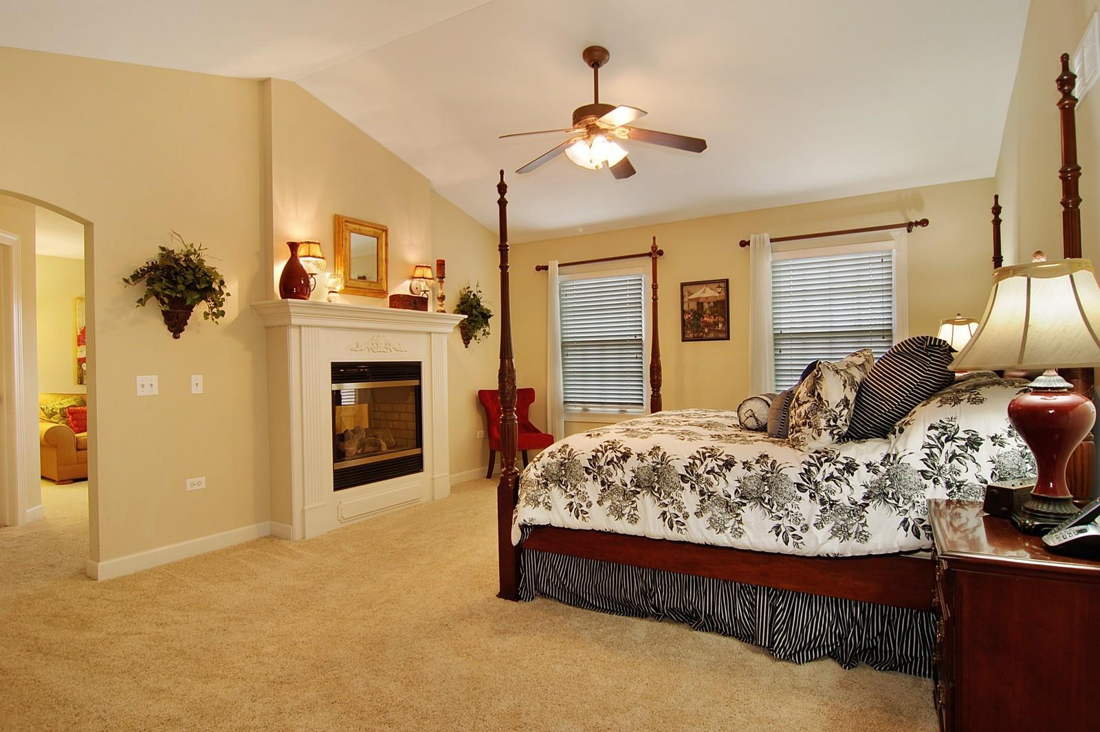 Real Estate Photography - 203 E. Lincoln, Wheaton, IL, 60187 - Master Bedroom