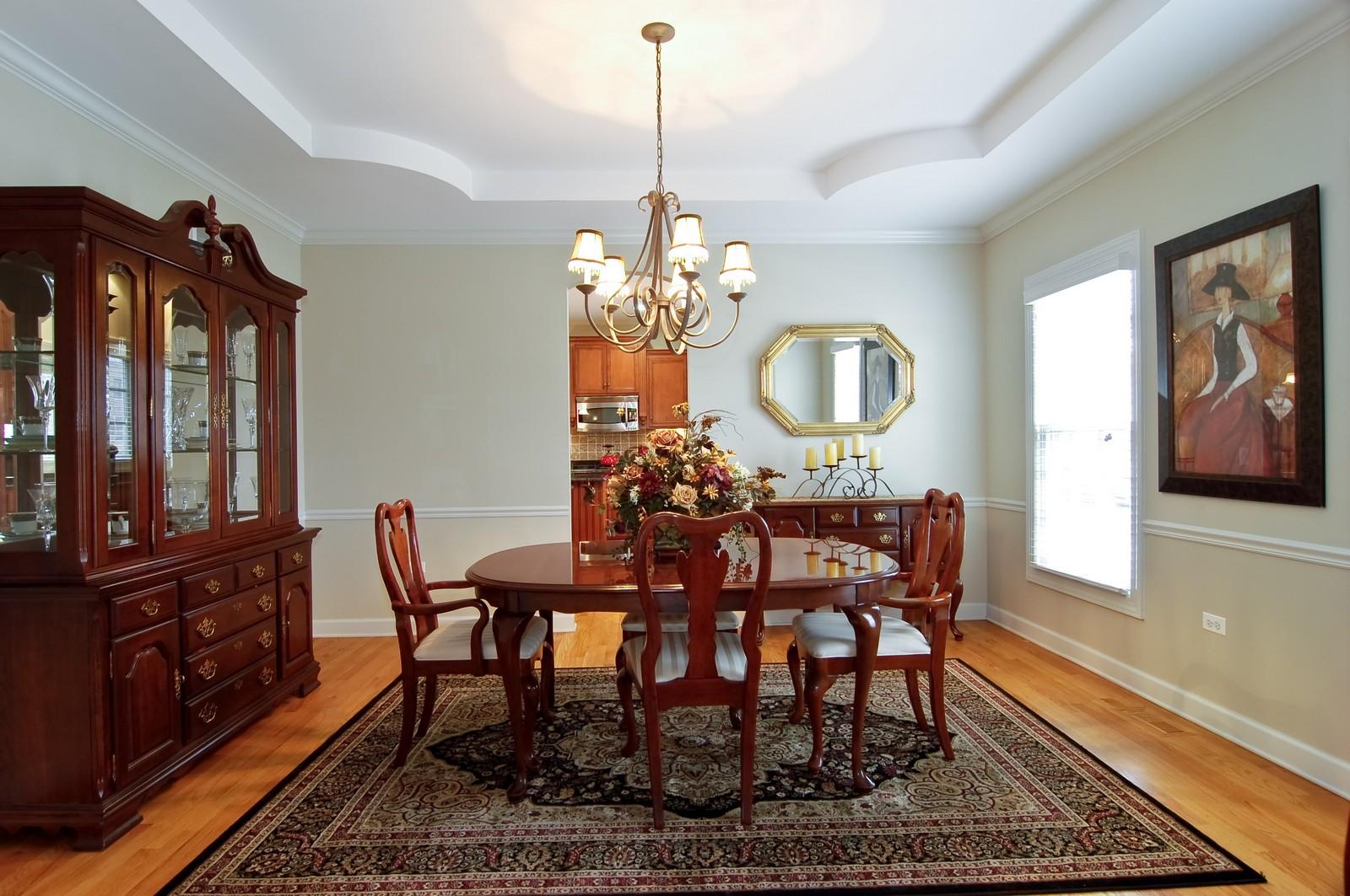 Real Estate Photography - 203 E. Lincoln, Wheaton, IL, 60187 - Dining Room
