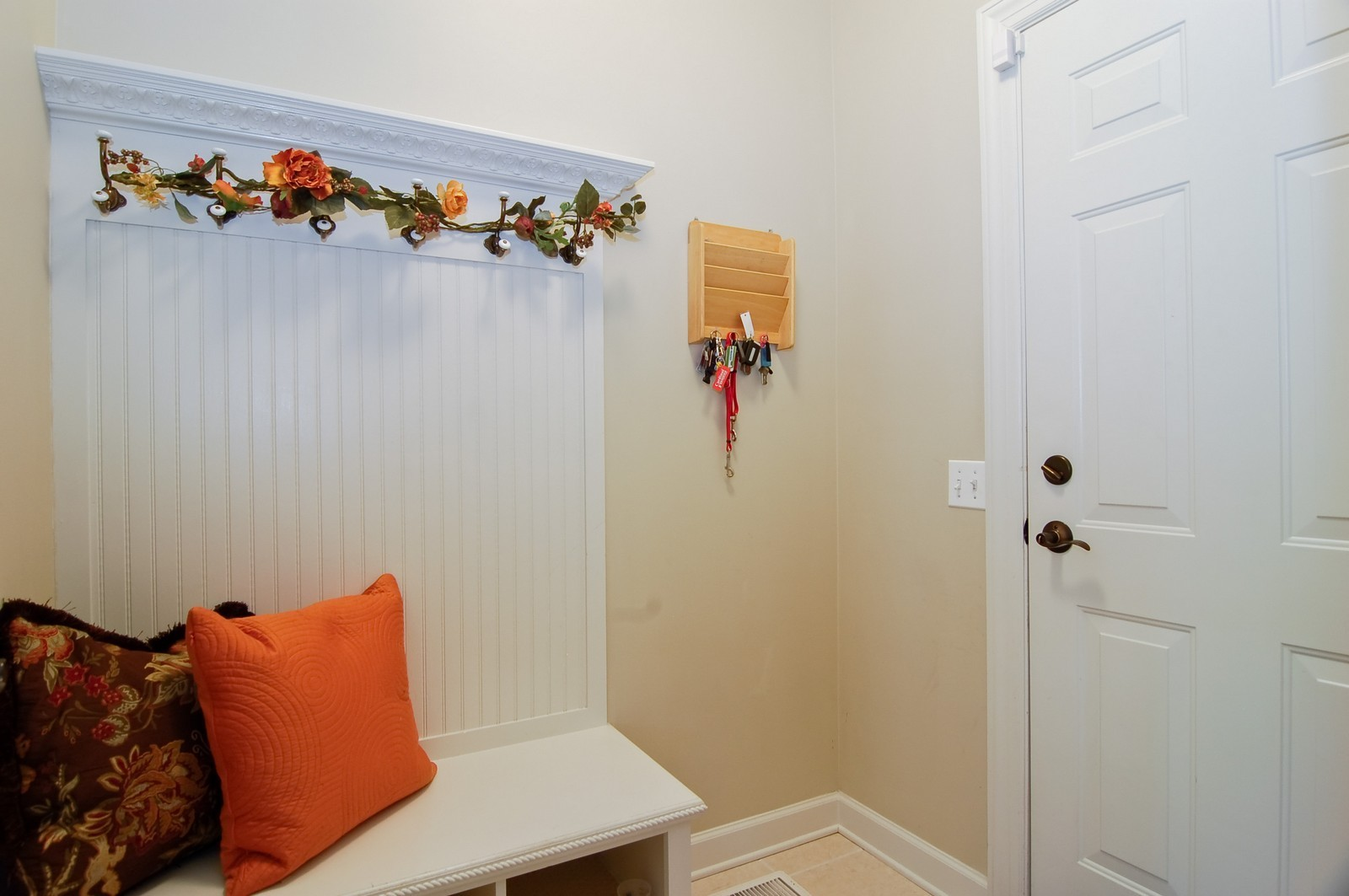 Real Estate Photography - 203 E. Lincoln, Wheaton, IL, 60187 - Coat Room from Garage Entry