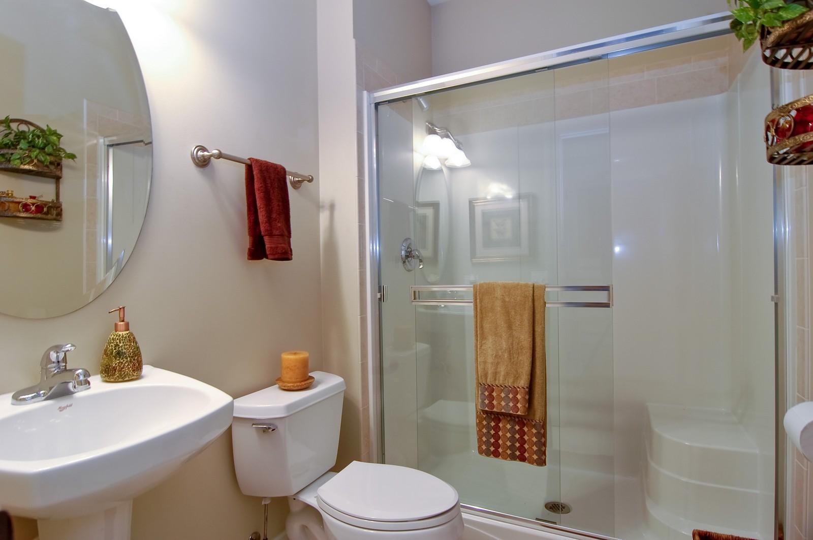 Real Estate Photography - 203 E. Lincoln, Wheaton, IL, 60187 - 4th Bathroom (1st Floor)