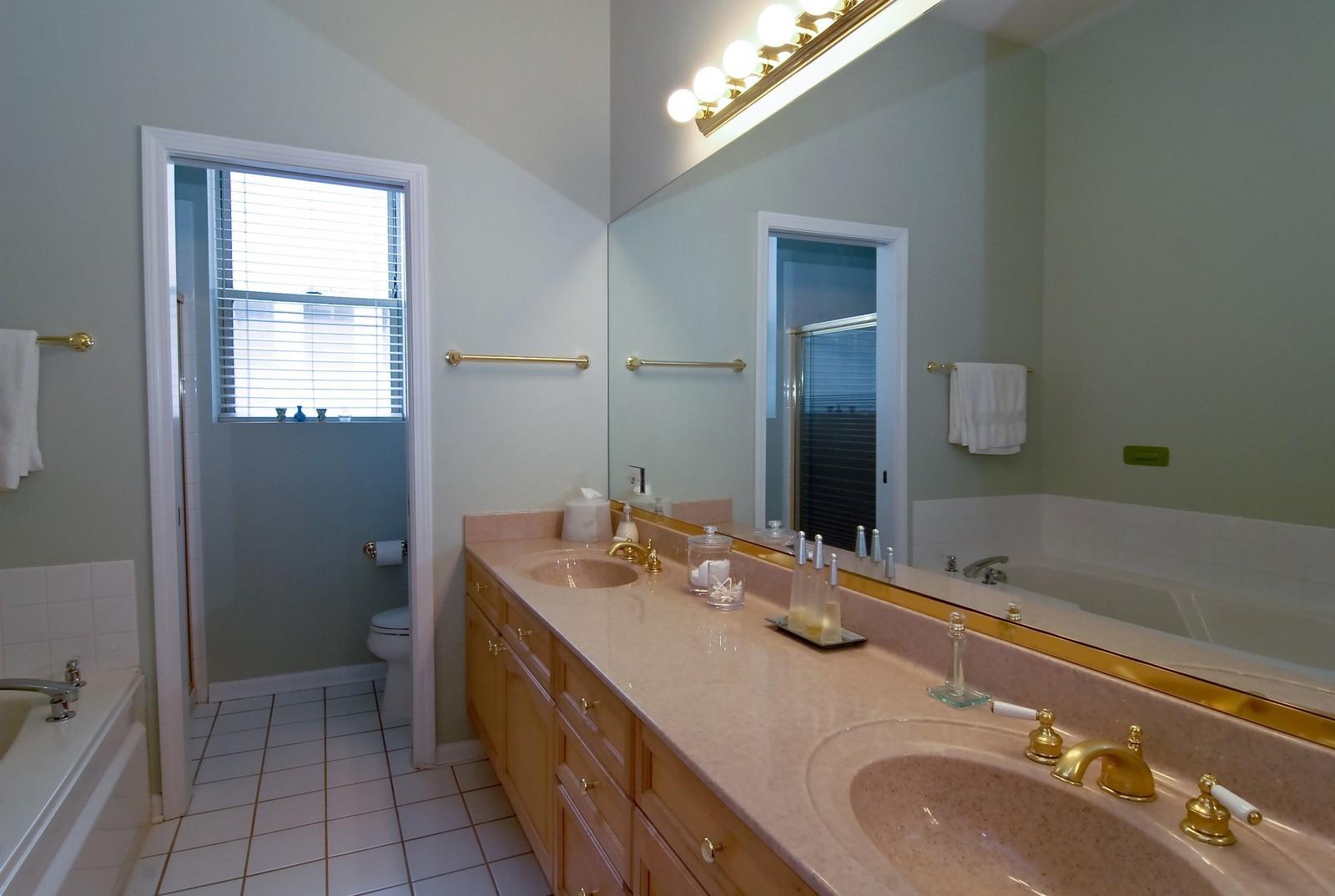Real Estate Photography - 1350 W Fullerton, Unit 411, Chicago, IL, 60614 - Master Bathroom