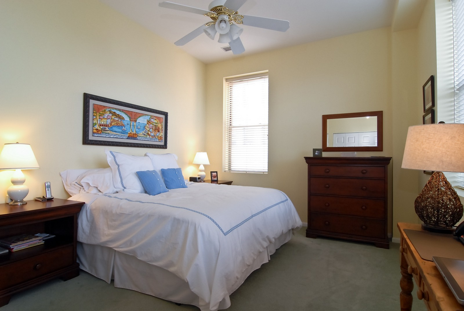 Real Estate Photography - 1350 W Fullerton, Unit 411, Chicago, IL, 60614 - Master Bedroom