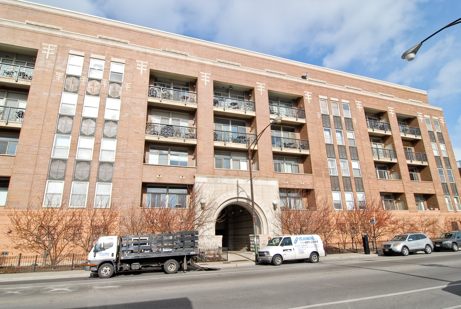 Real Estate Photography - 1350 W Fullerton, Unit 411, Chicago, IL, 60614 - Front View