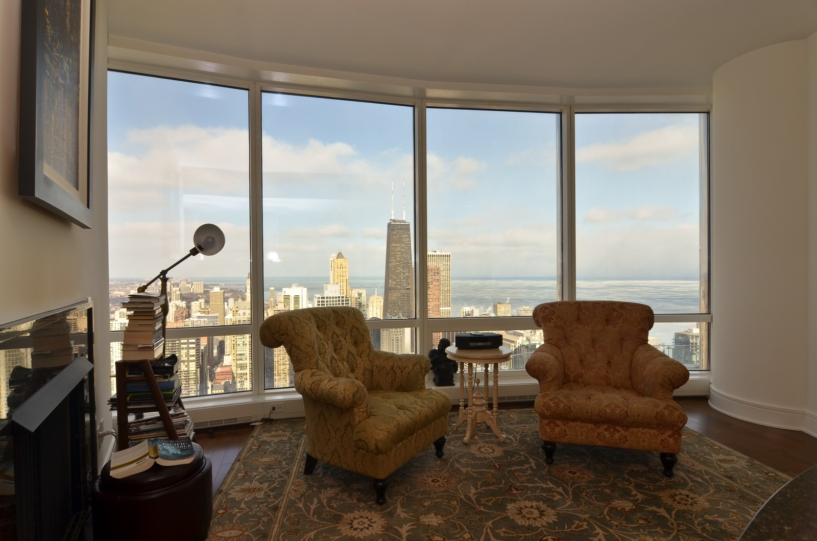 Real Estate Photography - 401 N Wabash, Unit 52a, Chicago, IL, 60611 - Family Room